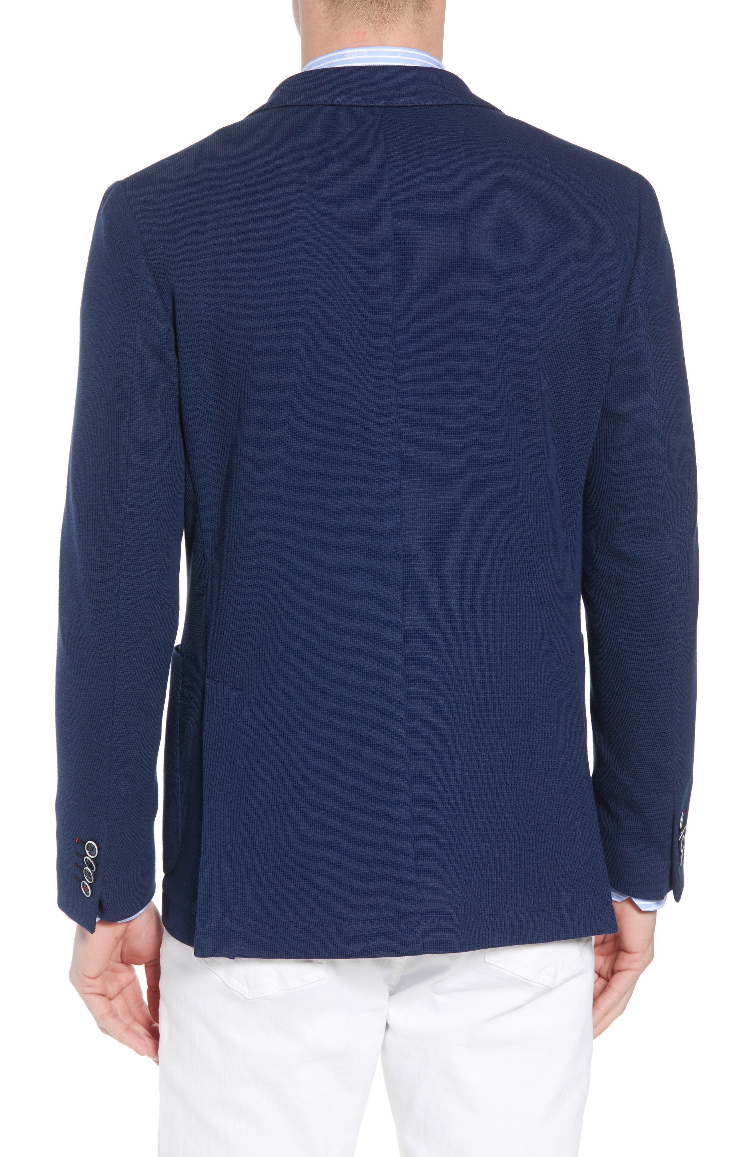 BUGATCHI,                             Regular Fit Cotton Piqué Blazer,                             Alternate thumbnail 2, color,                             411
