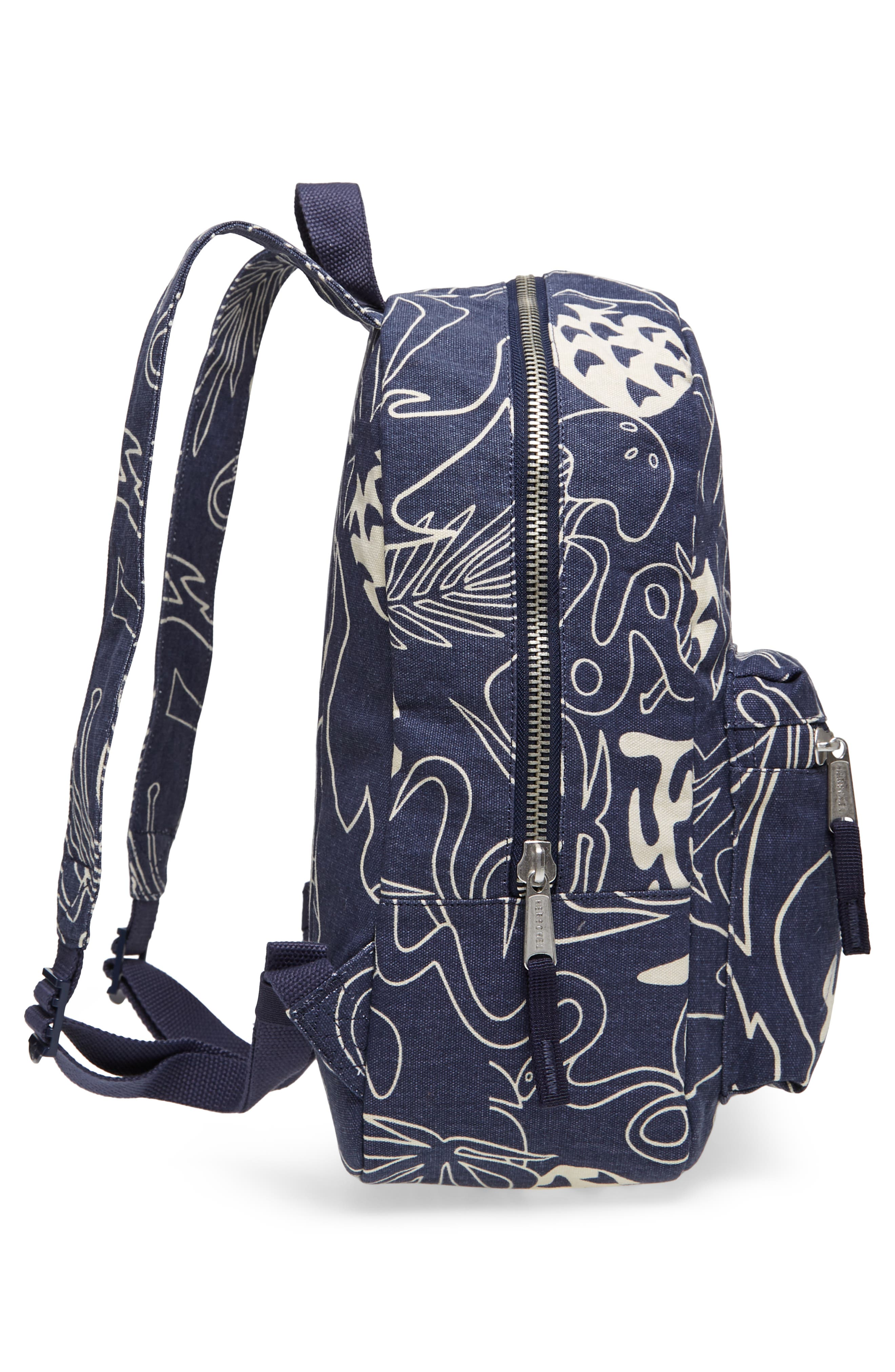 X-Small Grove Cotton Canvas Backpack,                             Alternate thumbnail 20, color,