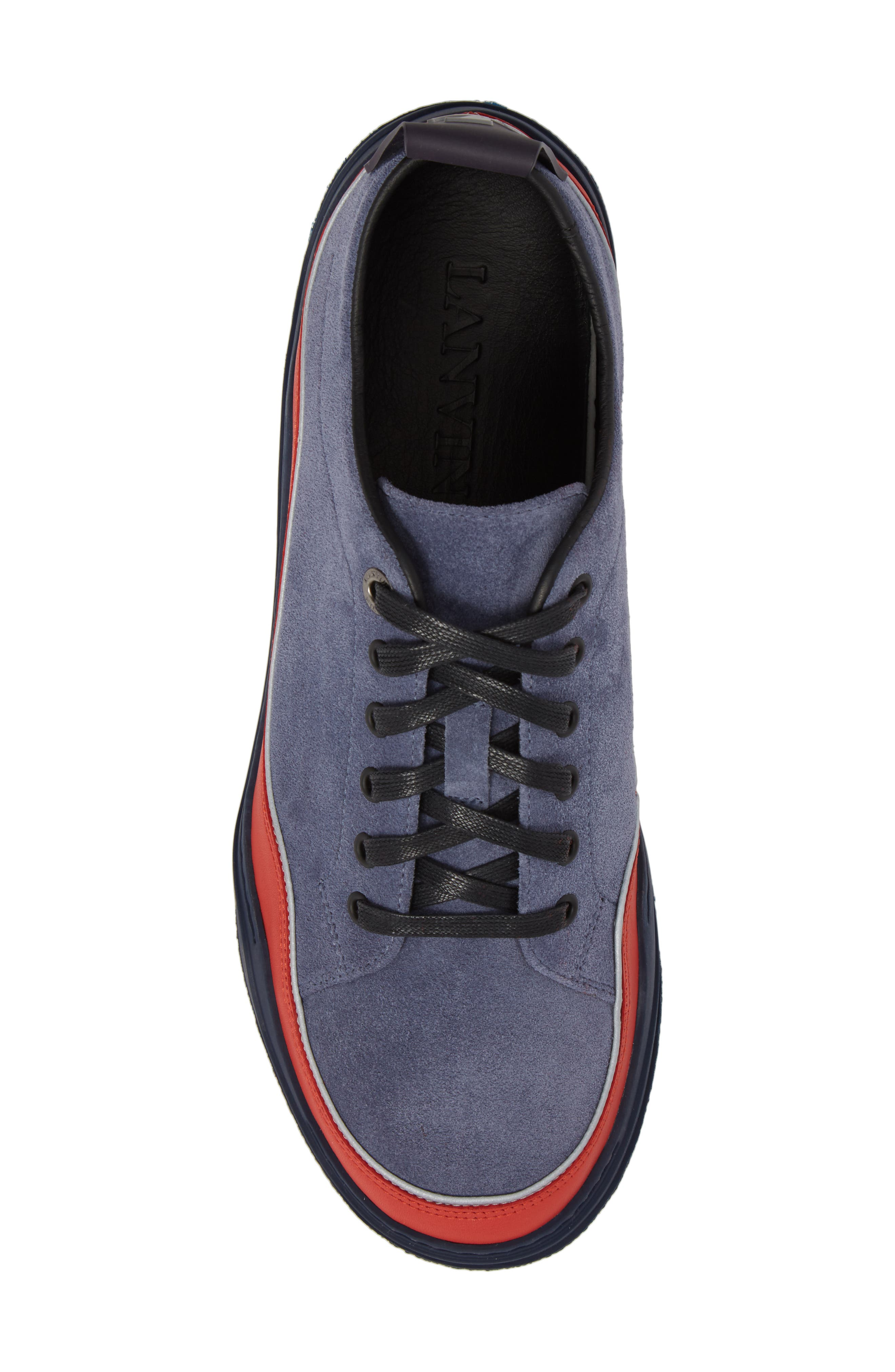 LANVIN,                             Diving Sneaker,                             Alternate thumbnail 5, color,                             450