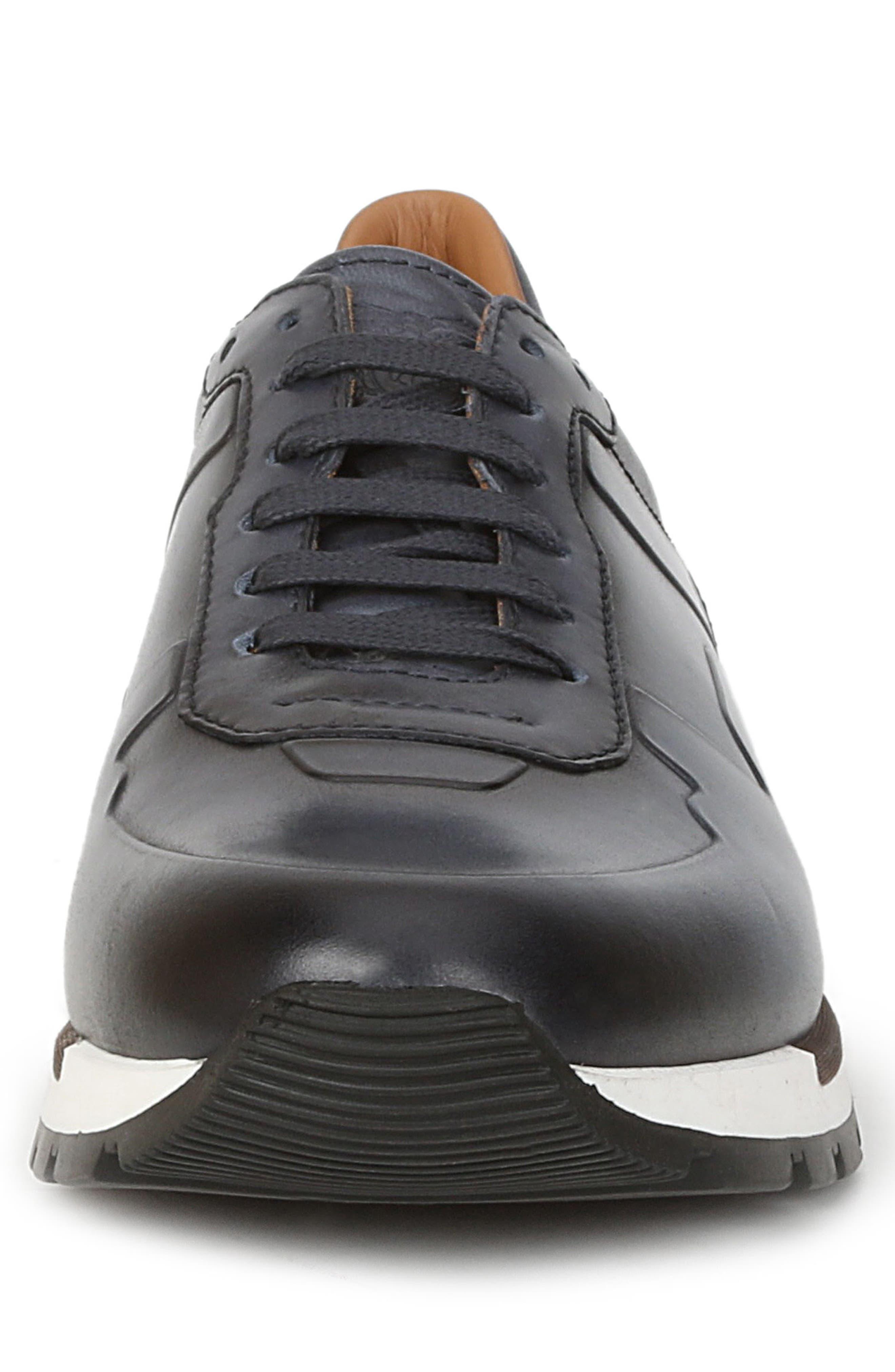 Davio Low Top Sneaker,                             Alternate thumbnail 4, color,                             NAVY