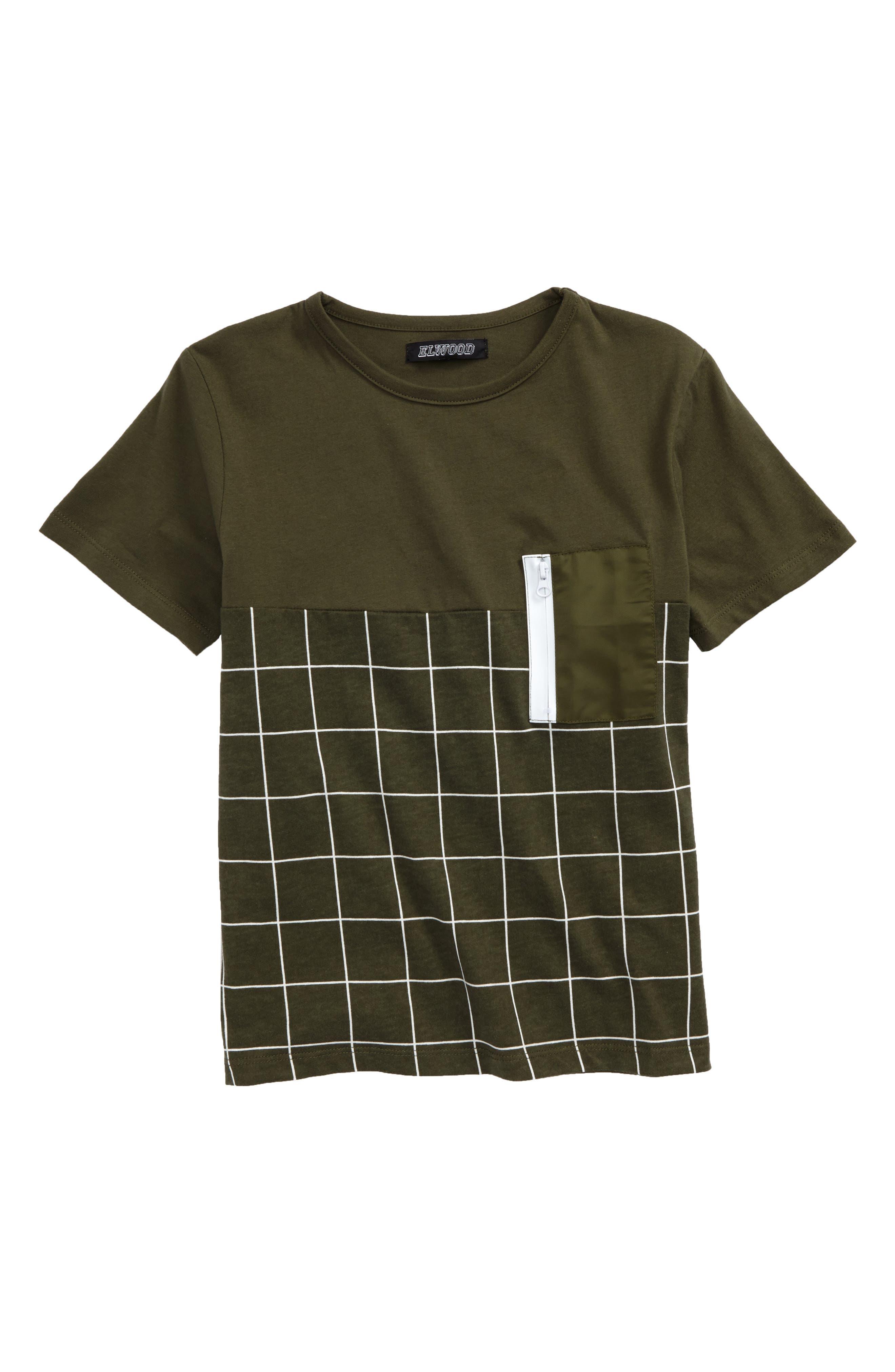 Contrast Pocket T-Shirt,                         Main,                         color, 301