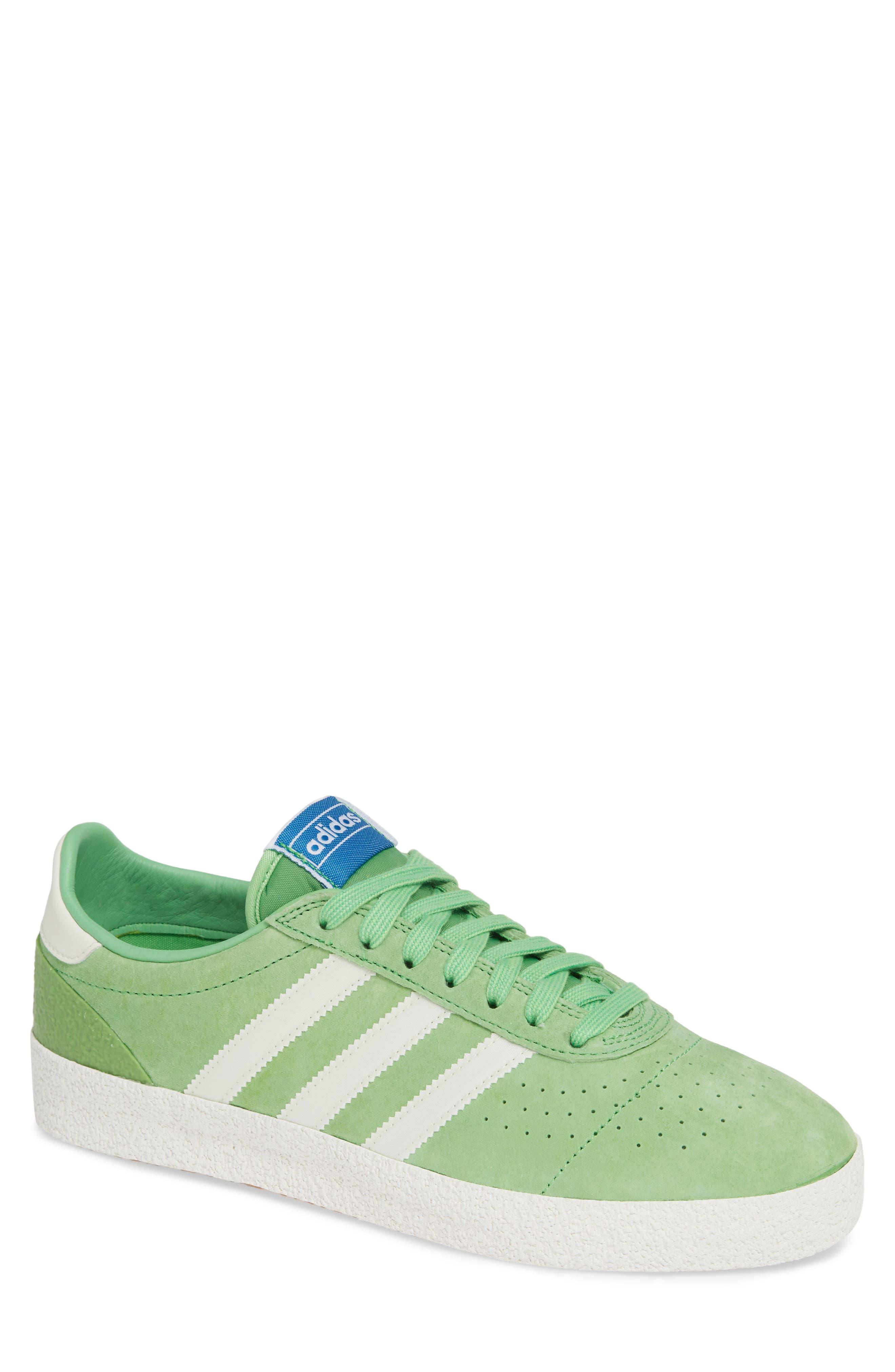 München Super Spezial Sneaker,                             Main thumbnail 1, color,                             INTENSE GREEN/ OFF WHITE