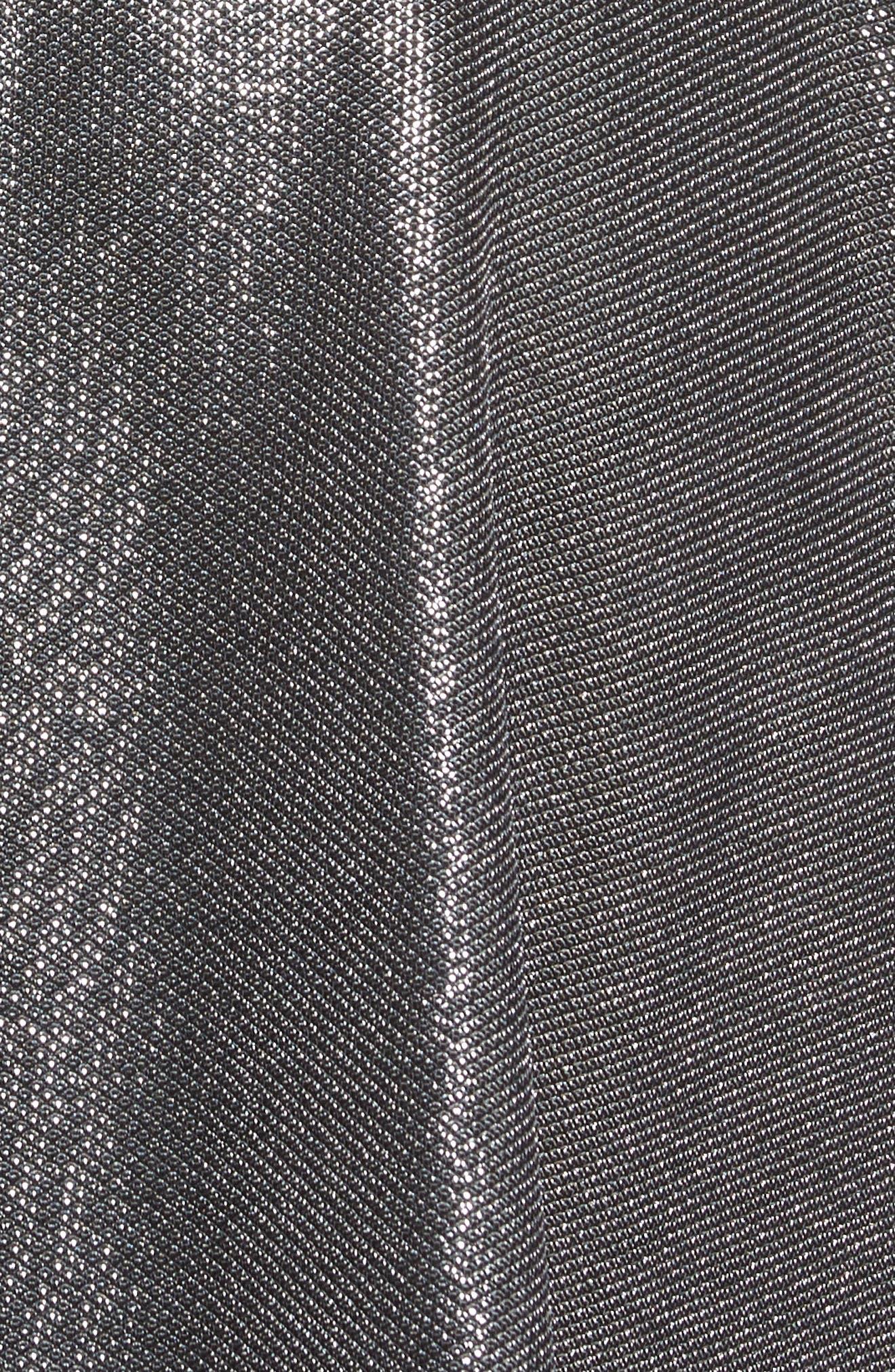Draped High/Low Dress,                             Alternate thumbnail 5, color,                             045