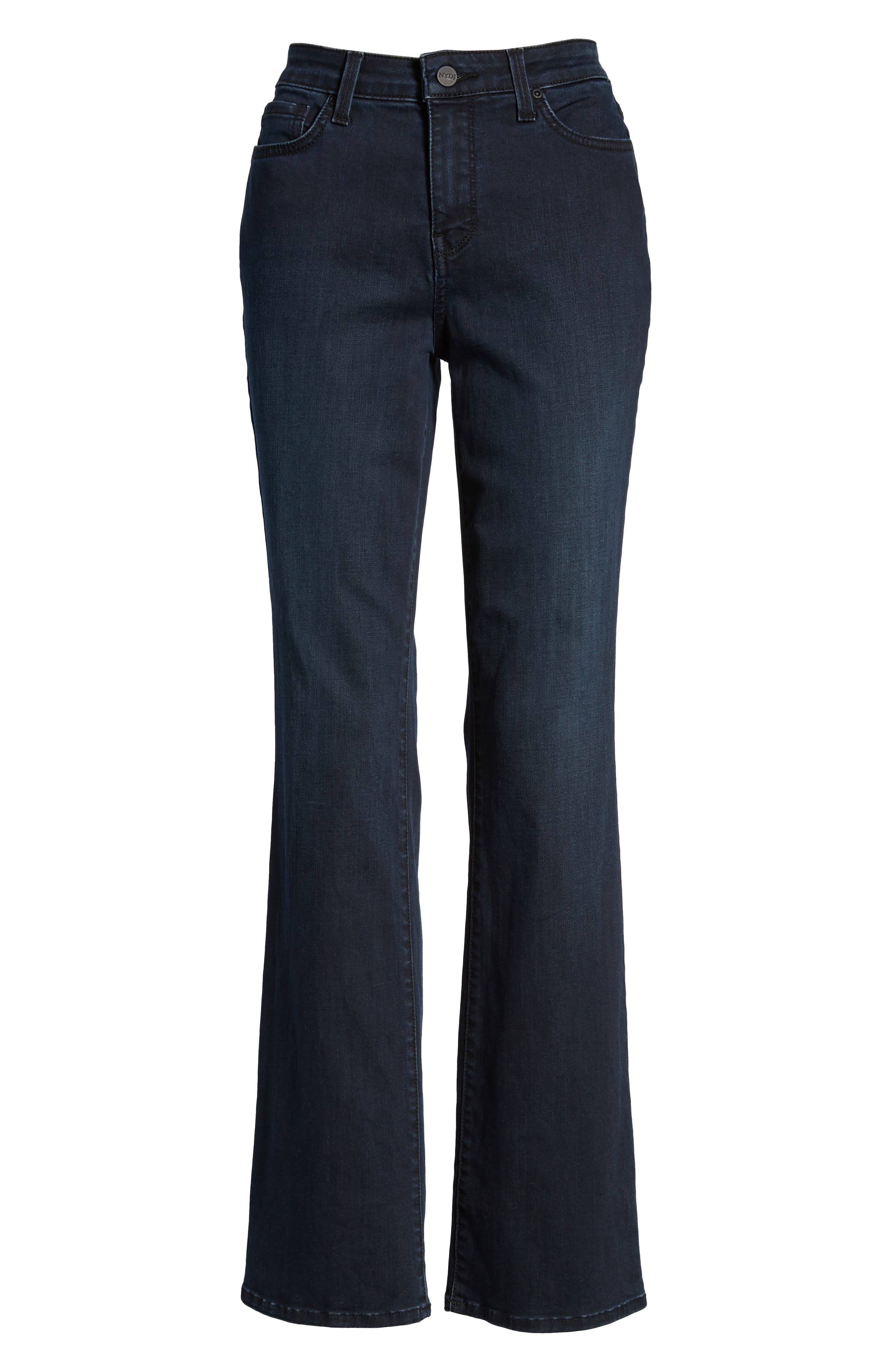 Barbara Bootcut Stretch Skinny Jeans,                             Alternate thumbnail 6, color,                             407