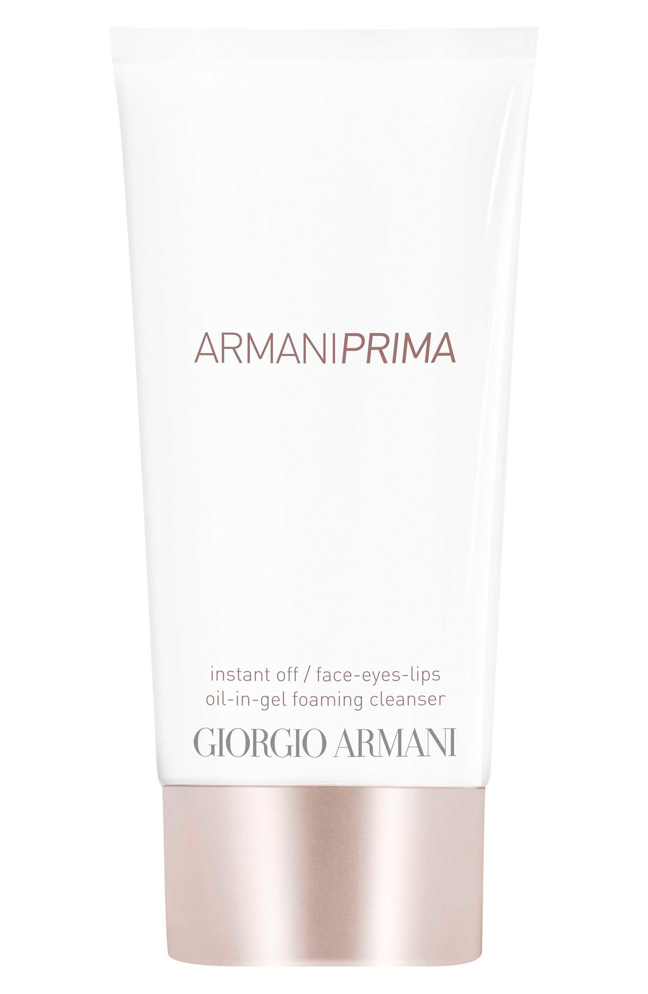 Prima Instant Off Face, Eyes & Lips Oil-in-Gel Foaming Cleanser,                             Main thumbnail 1, color,                             NO COLOR