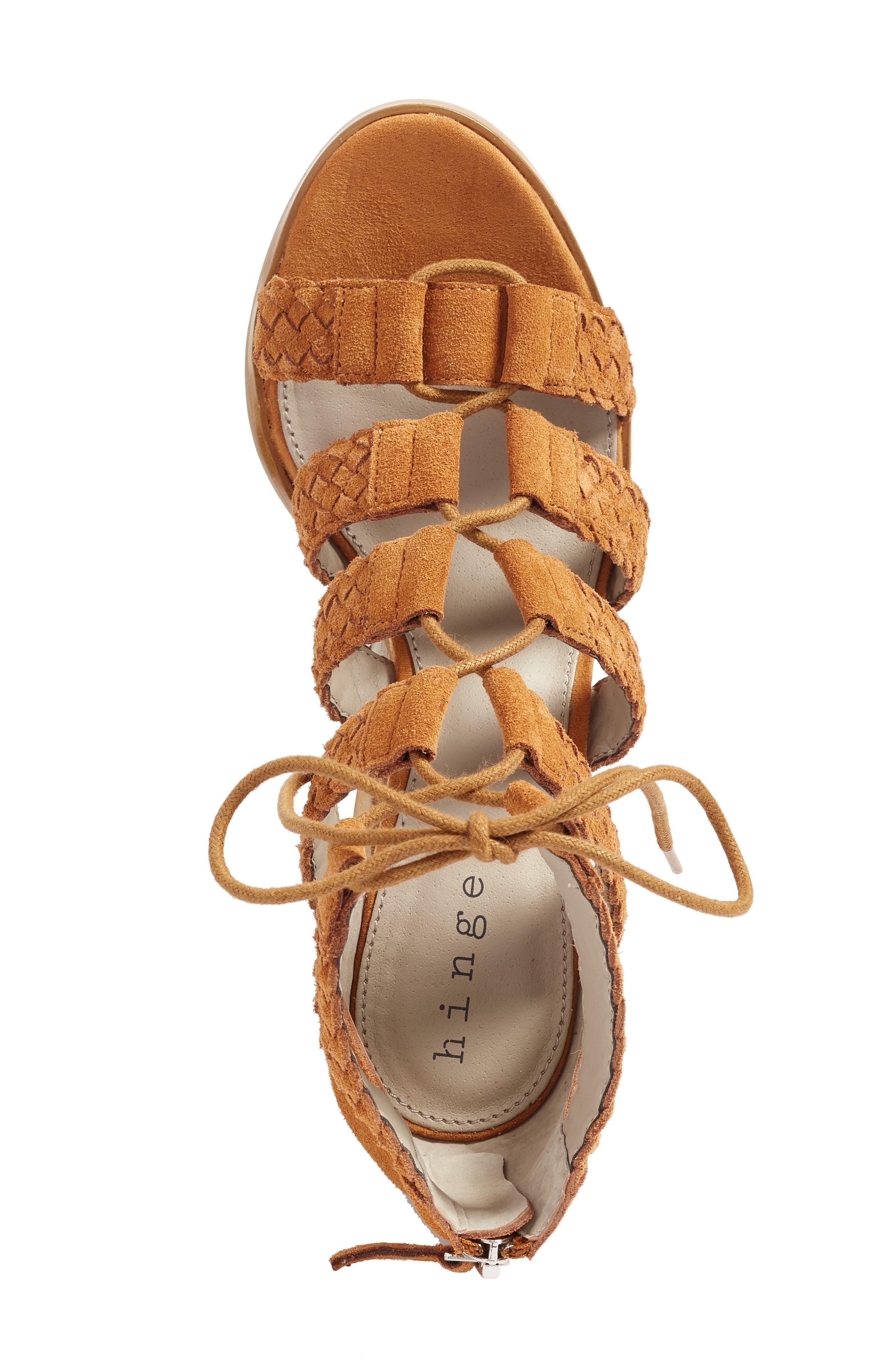 Desi Block Heel Sandal,                             Alternate thumbnail 3, color,                             202