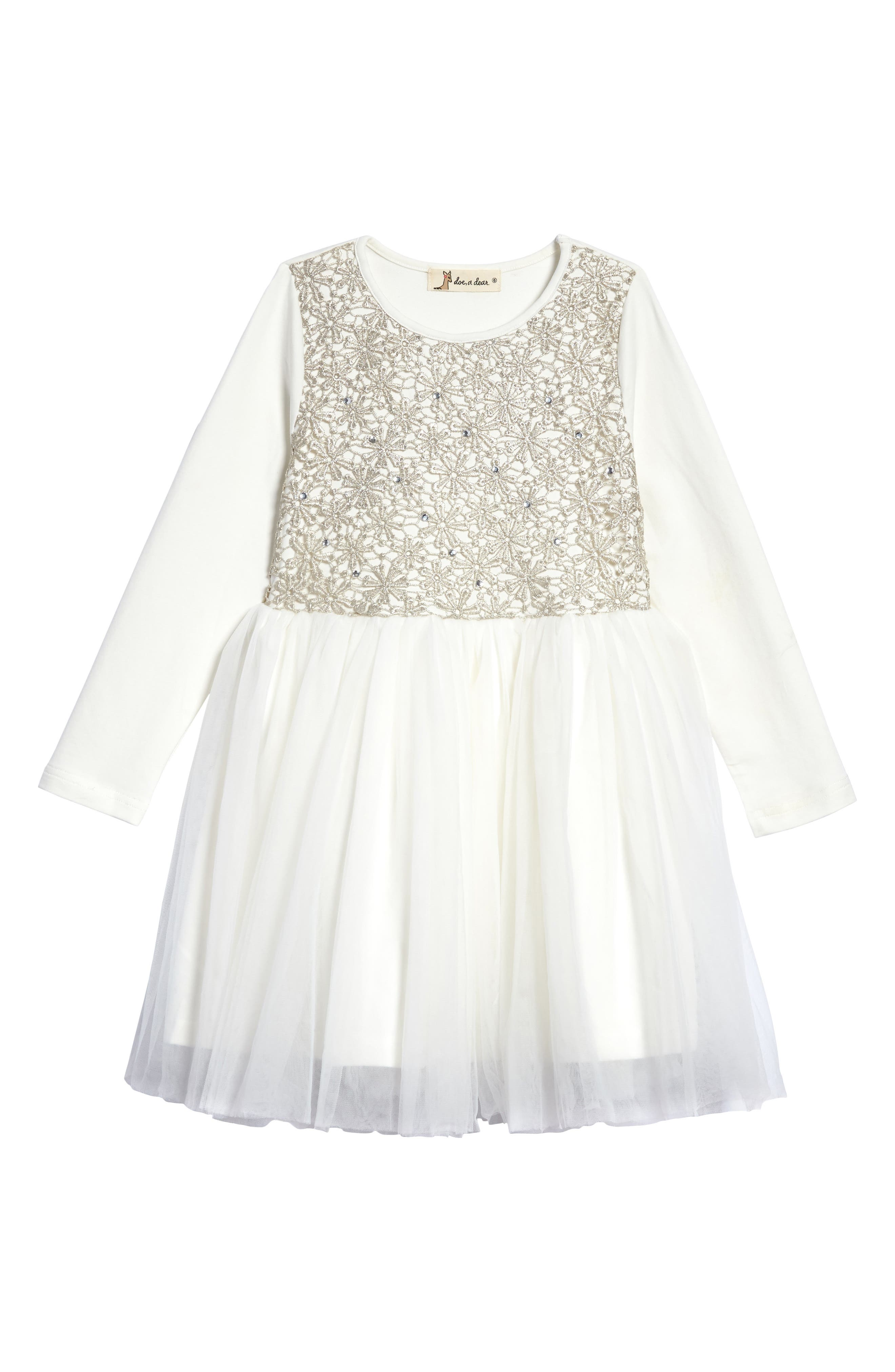 Tulle Party Dress,                         Main,                         color, 900