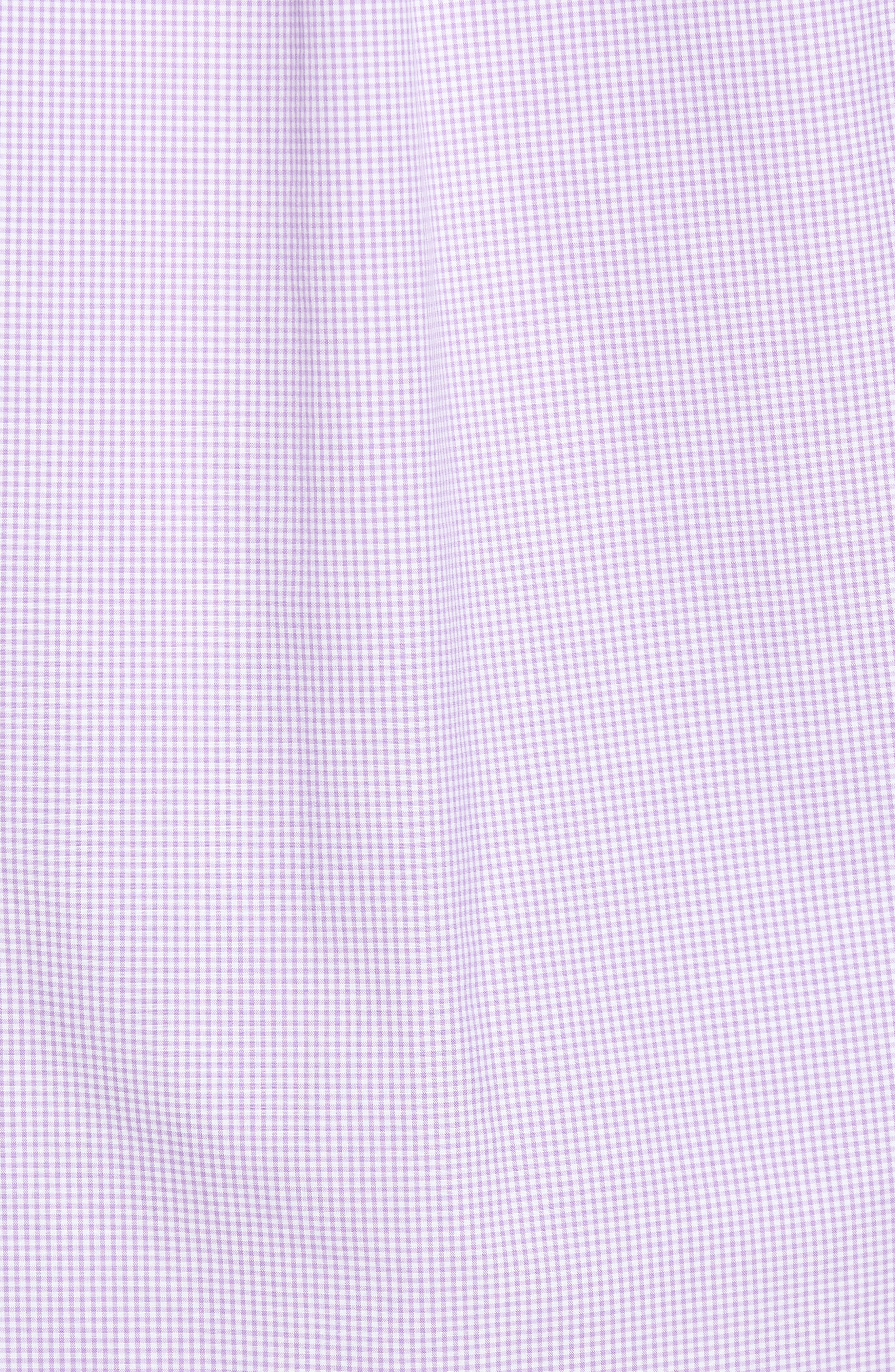 Seaboard Classic Fit Gingham Sport Shirt,                             Alternate thumbnail 5, color,
