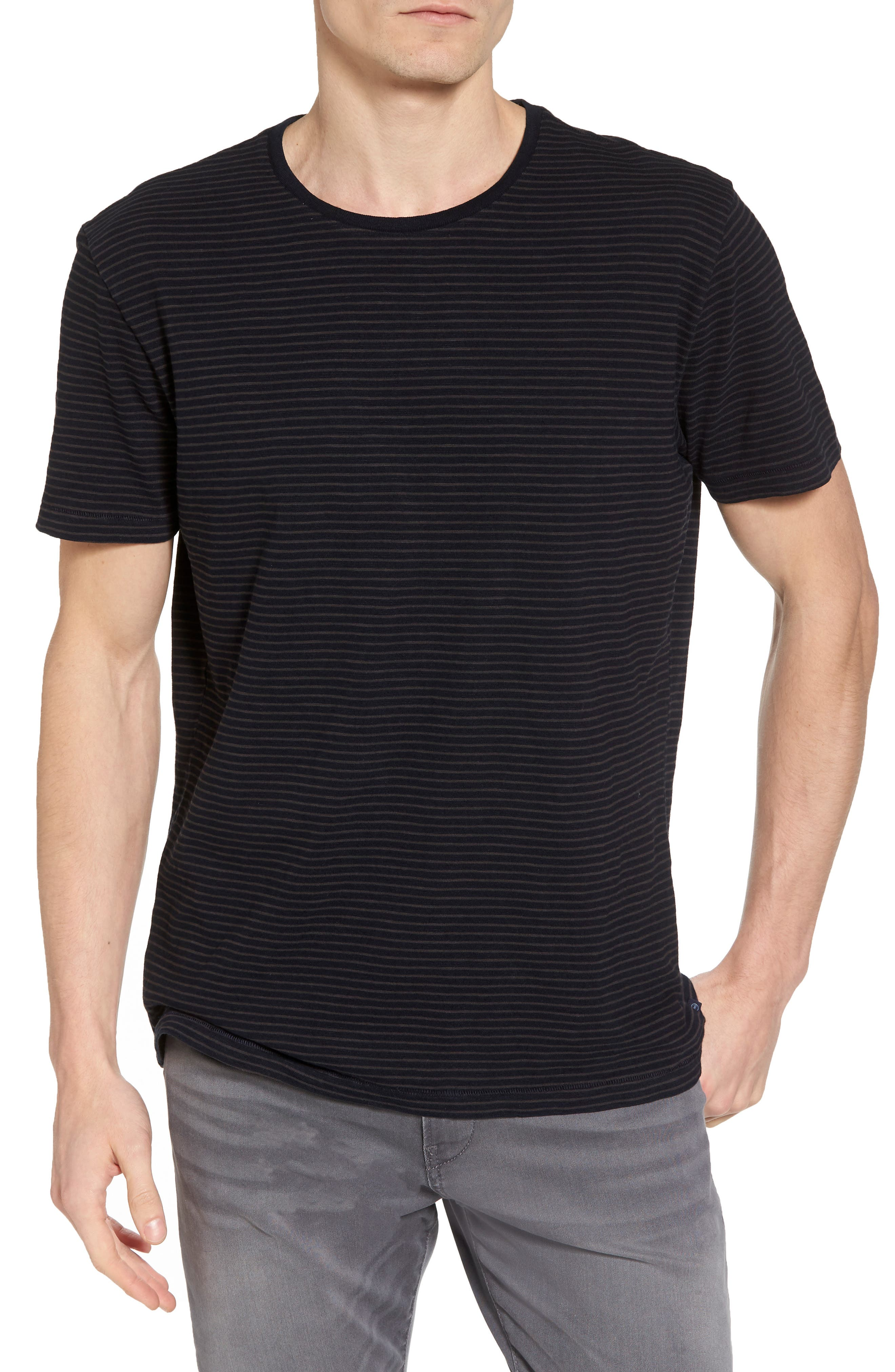 Julian Slim Fit Crewneck Shirt,                             Main thumbnail 2, color,