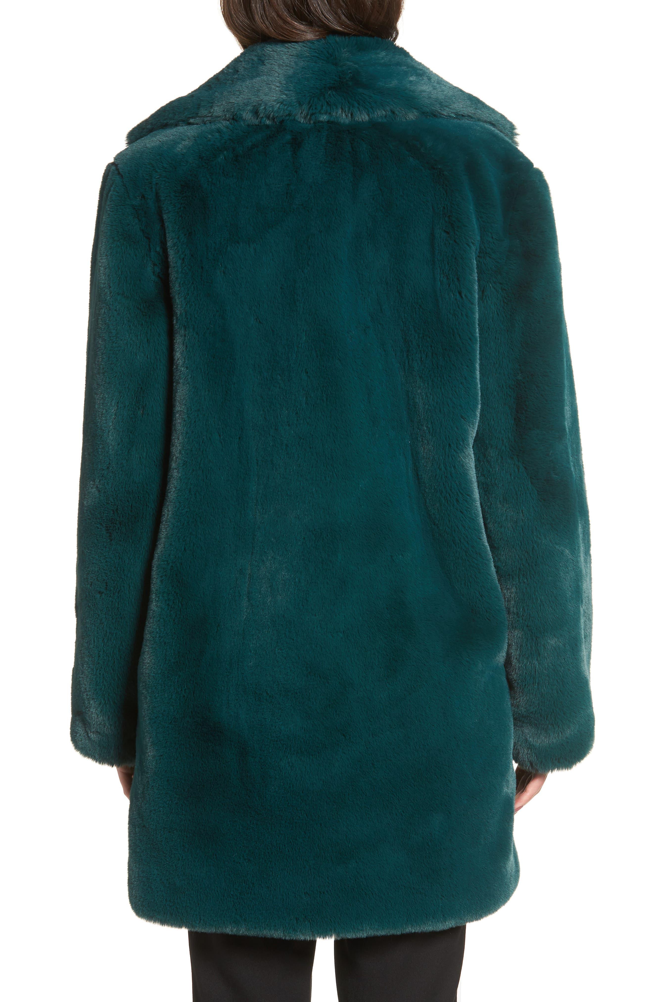Dreaming Faux Fur Coat,                             Alternate thumbnail 2, color,                             300