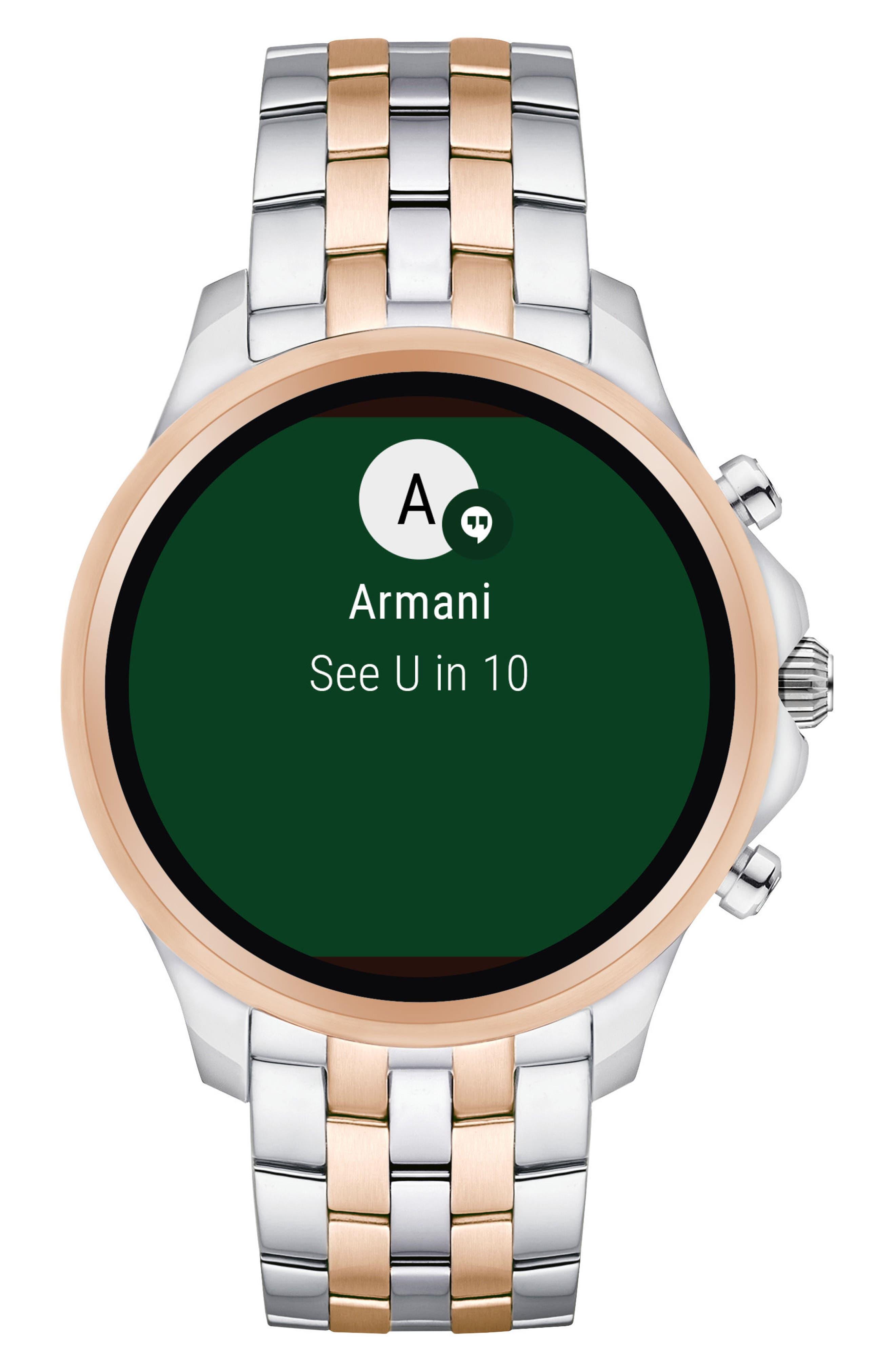 Touchscreen Bracelet Smartwatch, 46mm,                             Main thumbnail 1, color,                             040