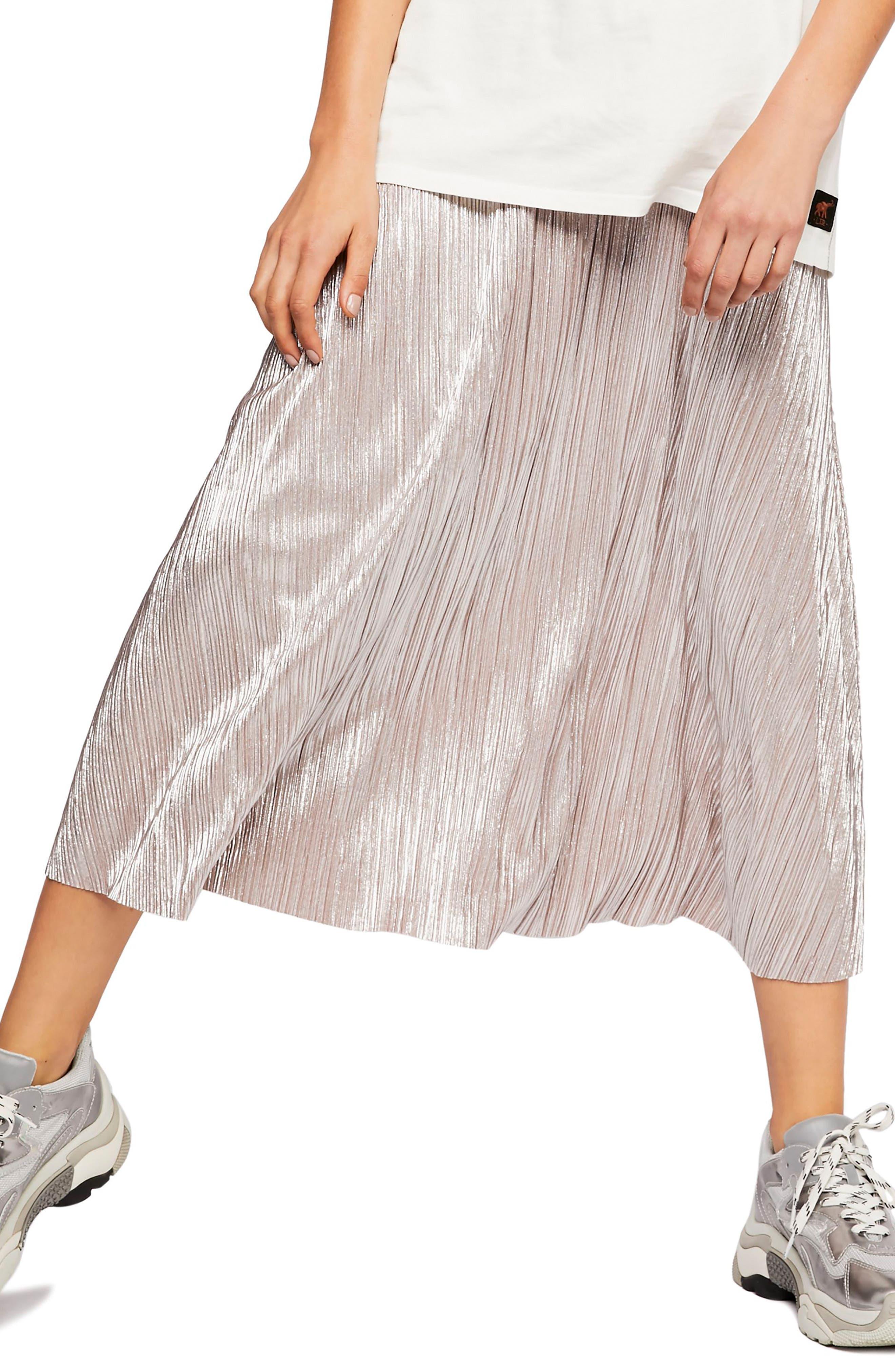 High Holiday Midi Skirt,                             Main thumbnail 1, color,                             040