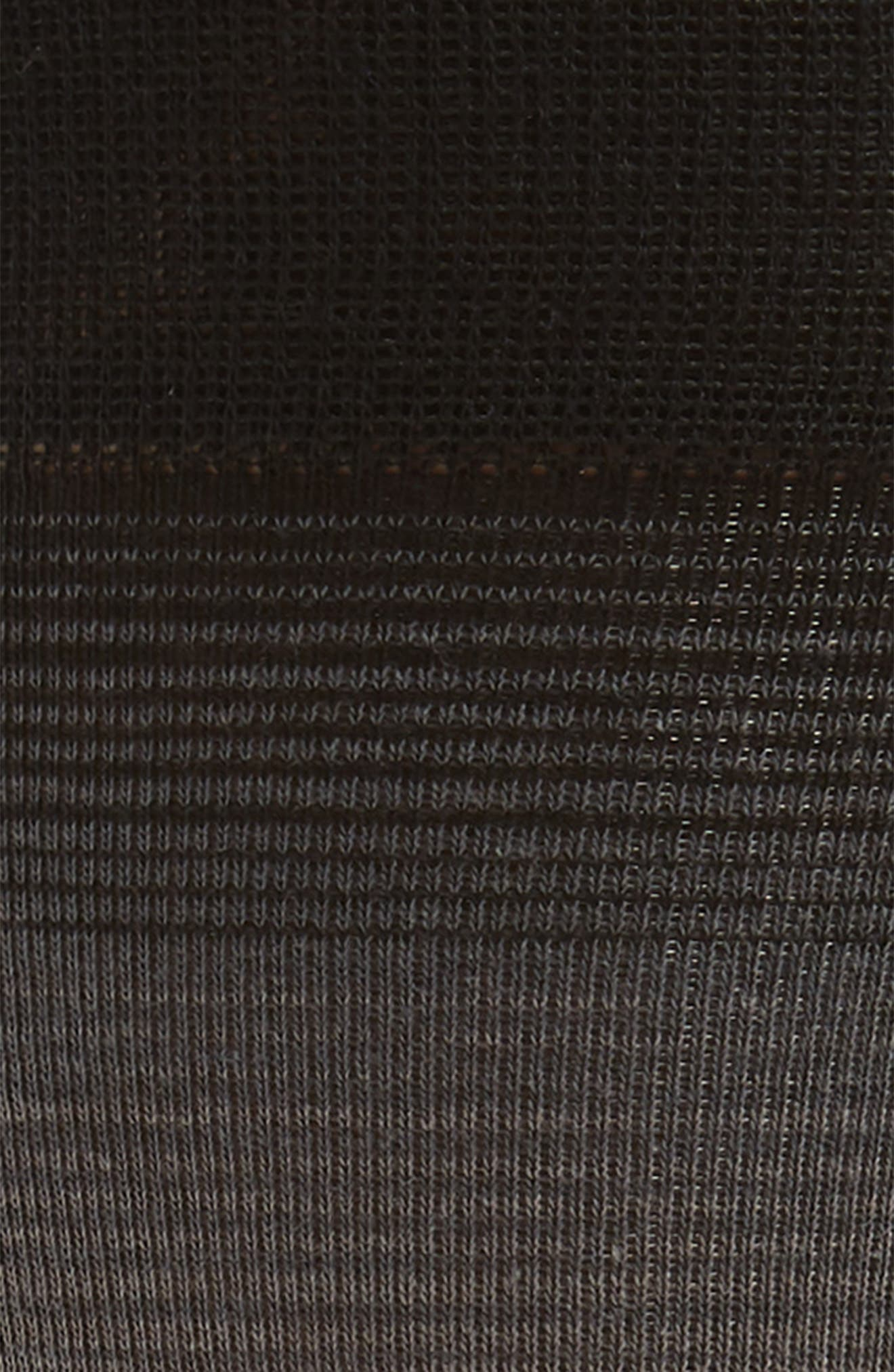 Gradient Stripe Socks,                             Alternate thumbnail 2, color,                             BLACK
