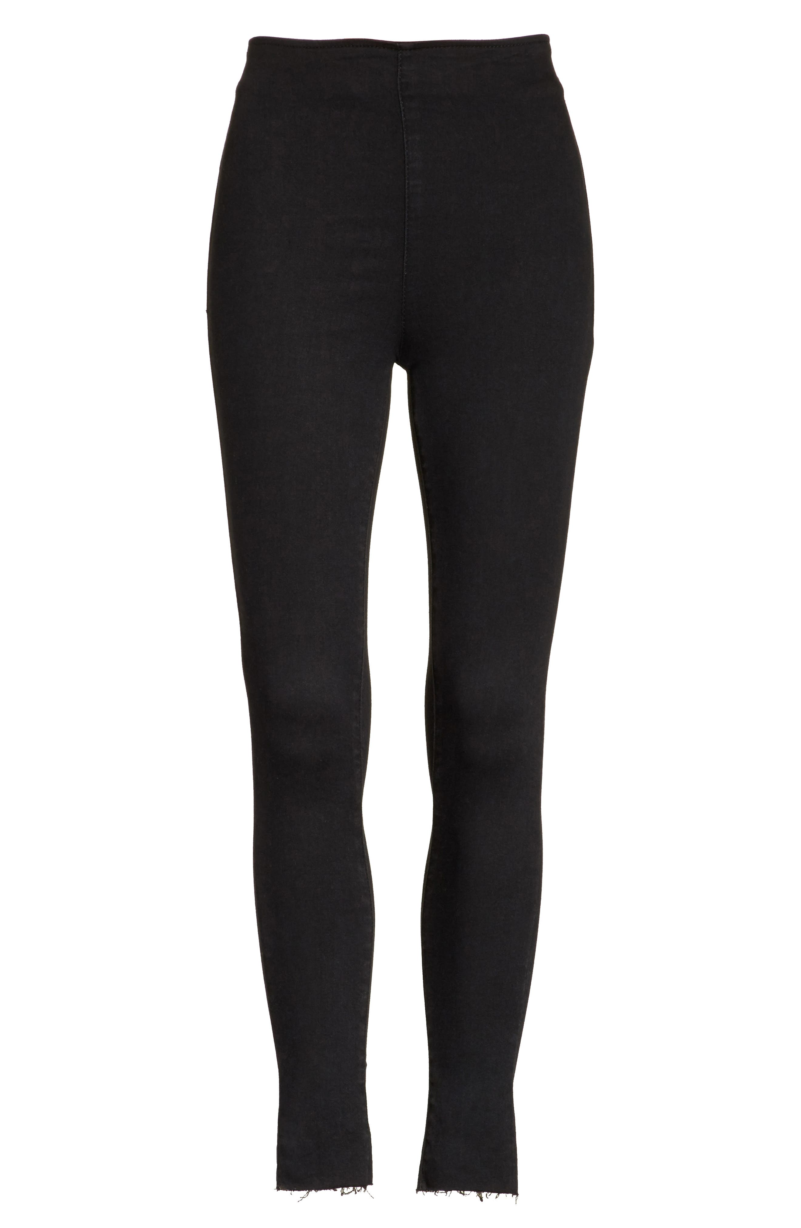 We the Free by Free People Easy Goes It Leggings,                             Alternate thumbnail 7, color,                             002