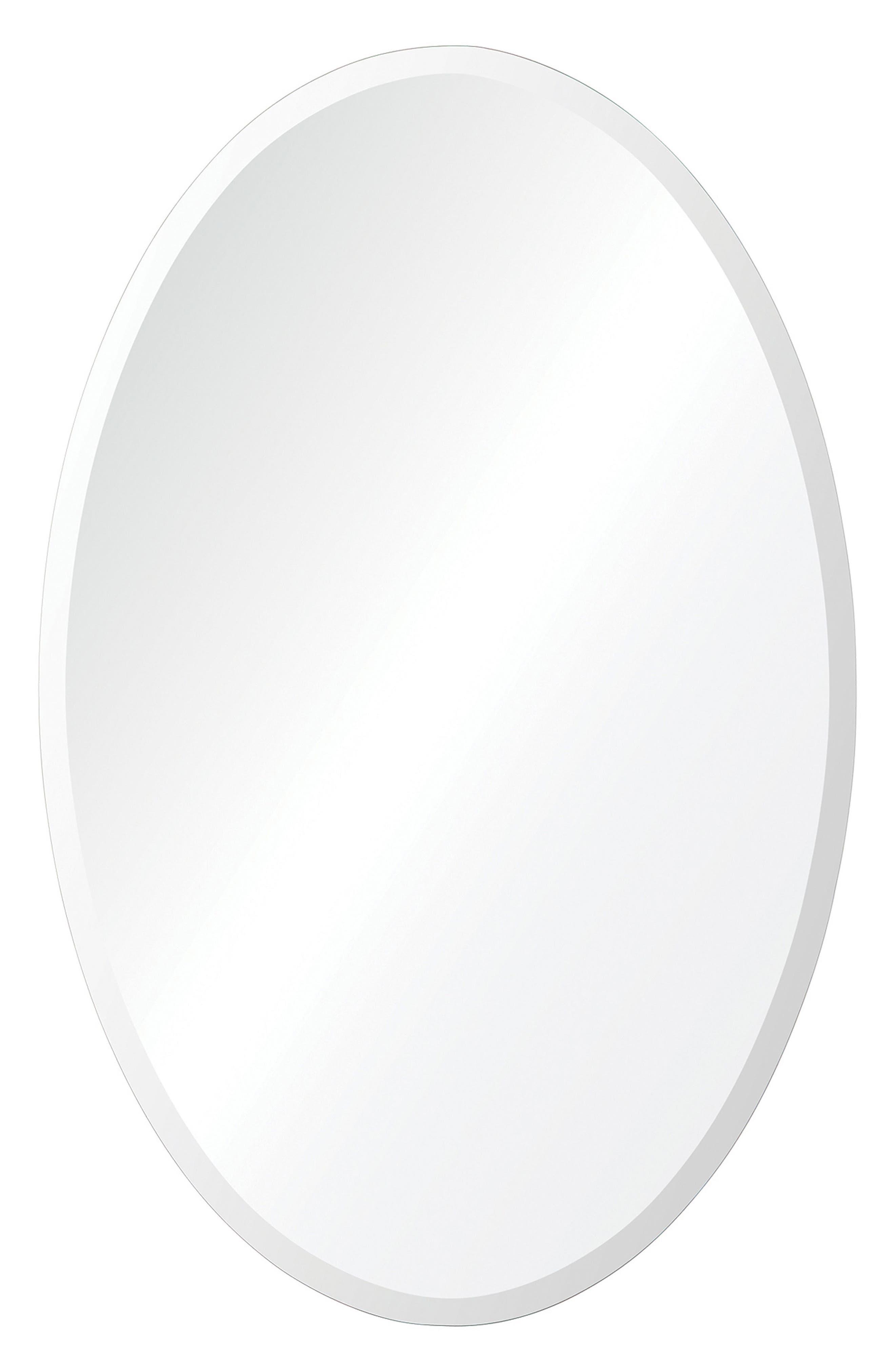 Frances Oval Mirror,                         Main,                         color, 040