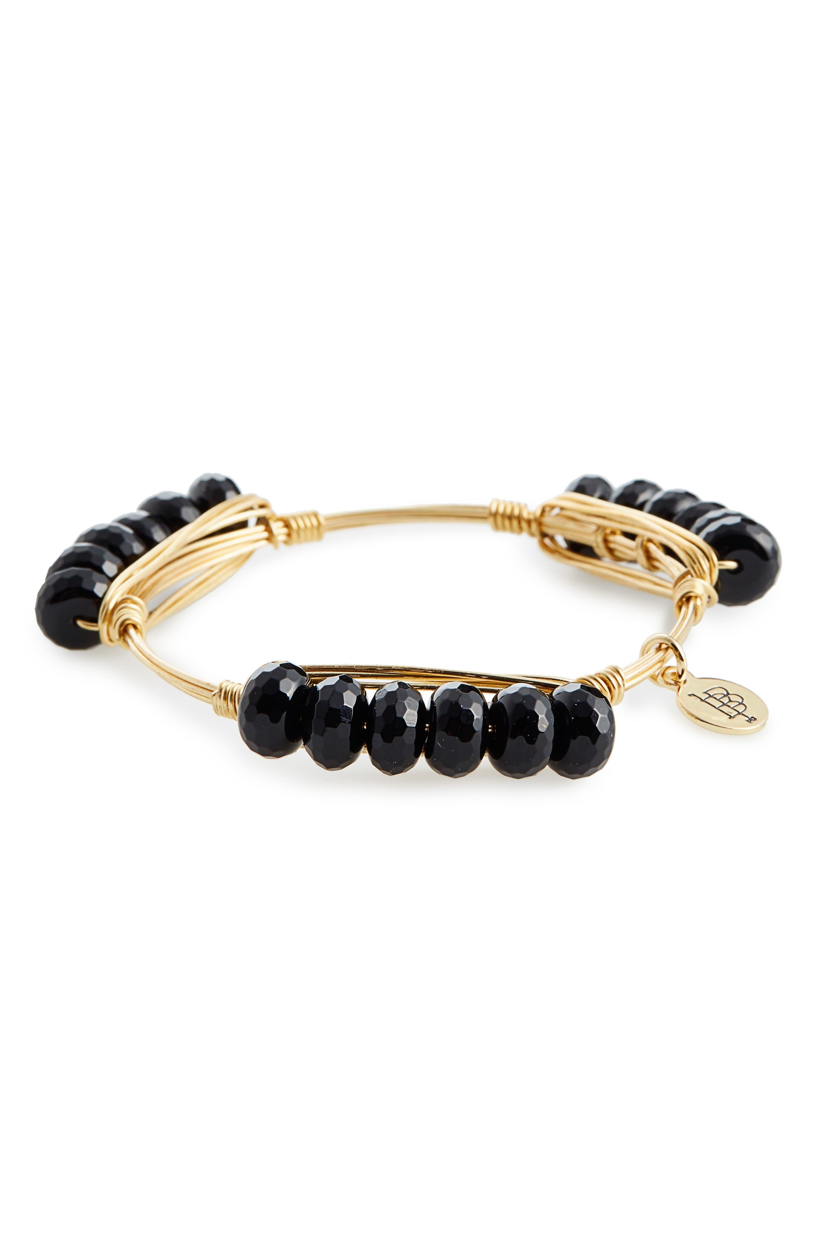 Beaded Bracelet,                         Main,                         color, 001