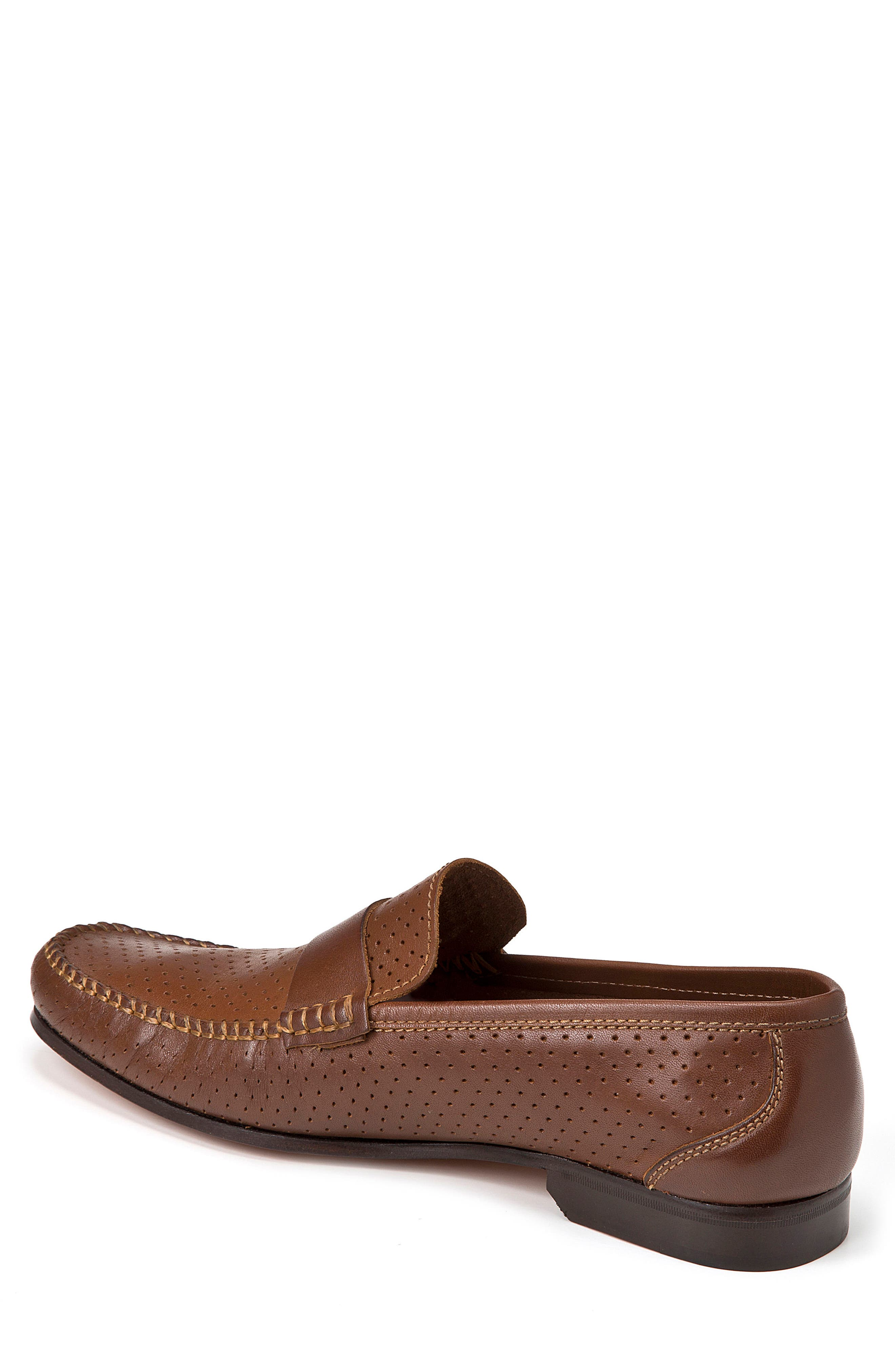 Alcazar Perforated Loafer,                             Alternate thumbnail 2, color,