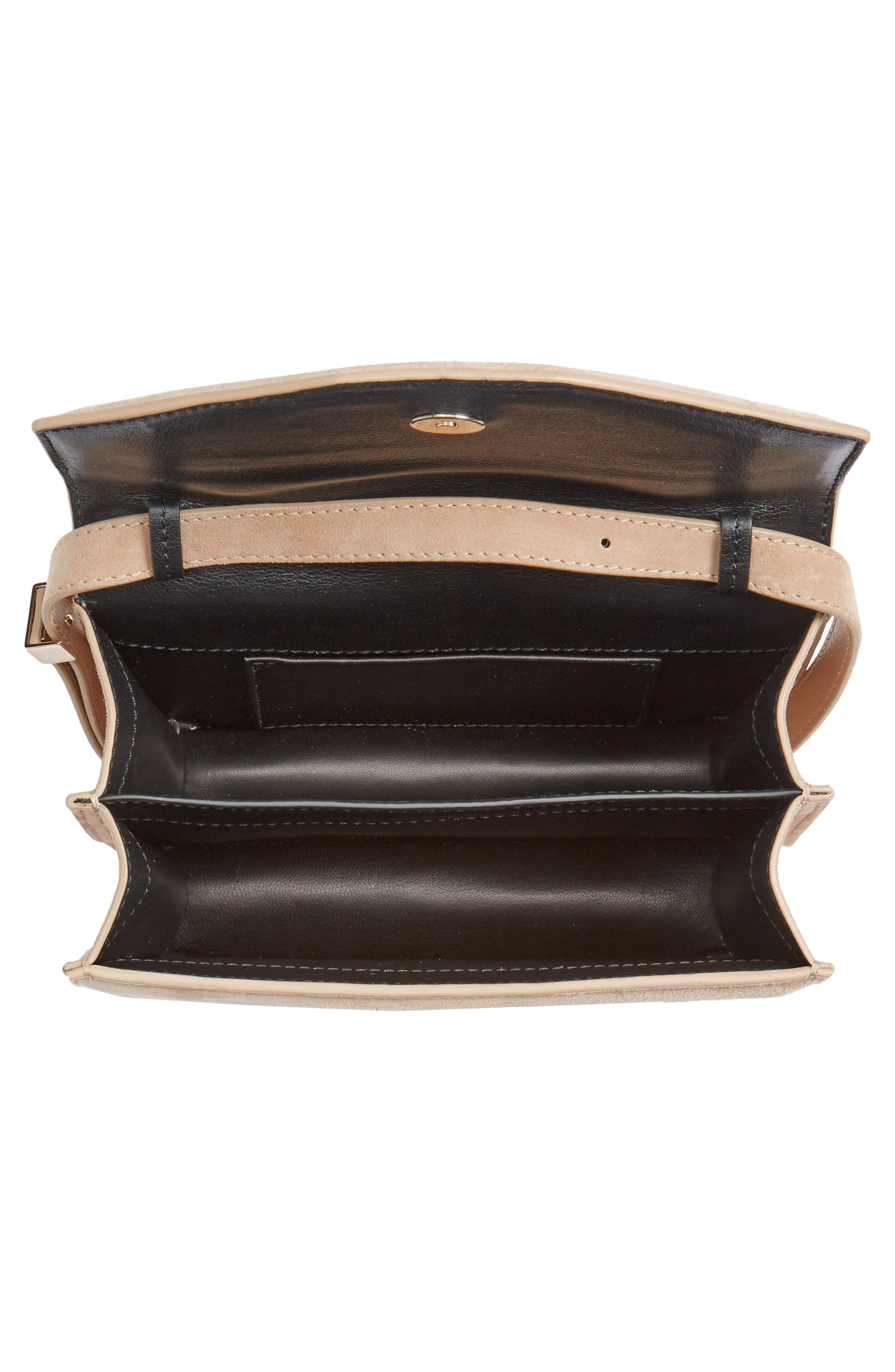 Indre Suede Shoulder Bag,                             Alternate thumbnail 4, color,                             200