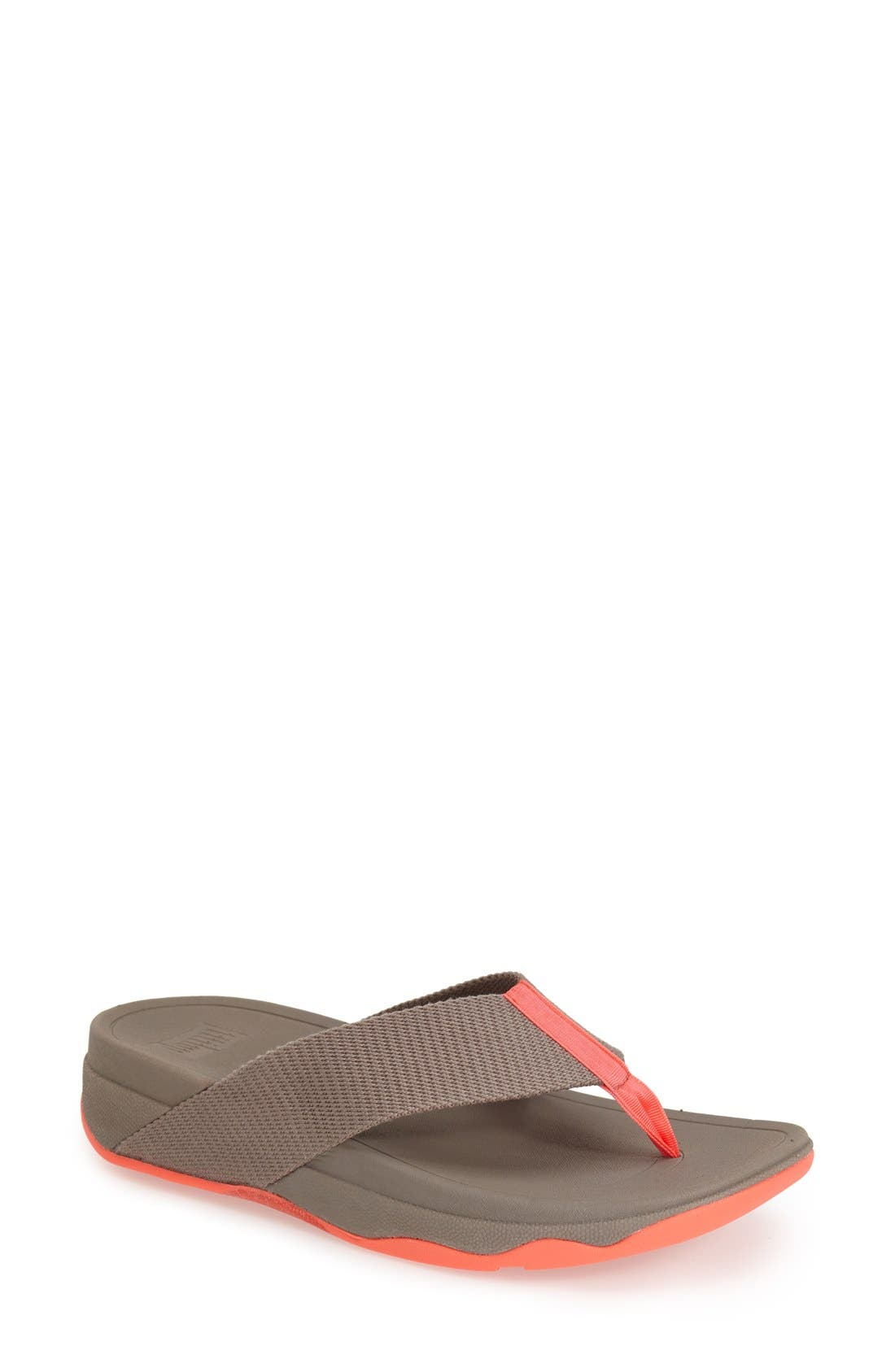 'Surfa' Thong Sandal,                             Main thumbnail 3, color,