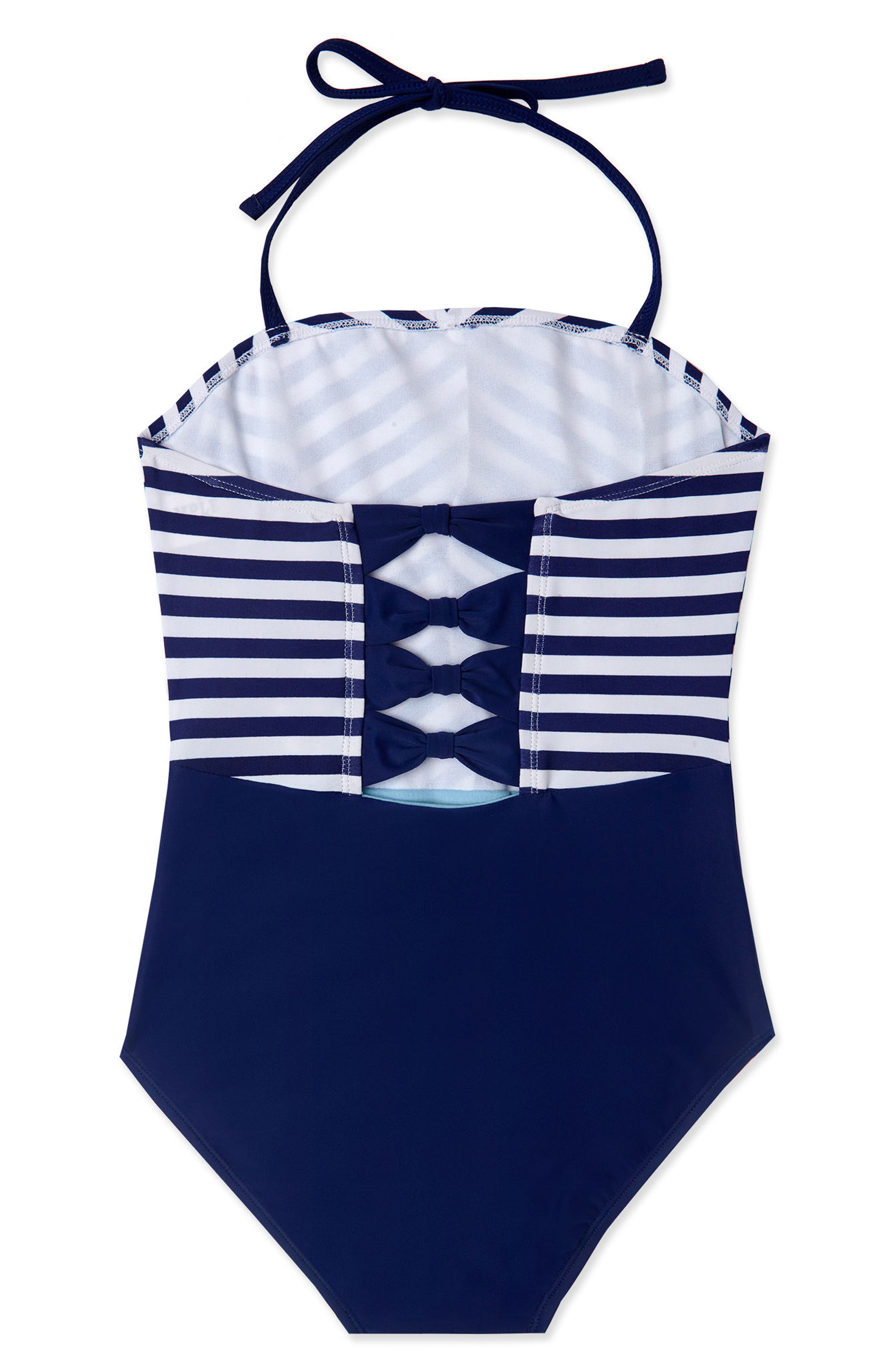 GOSSIP GIRL Ships Ahoy One-Piece Swimsuit, Main, color, 410
