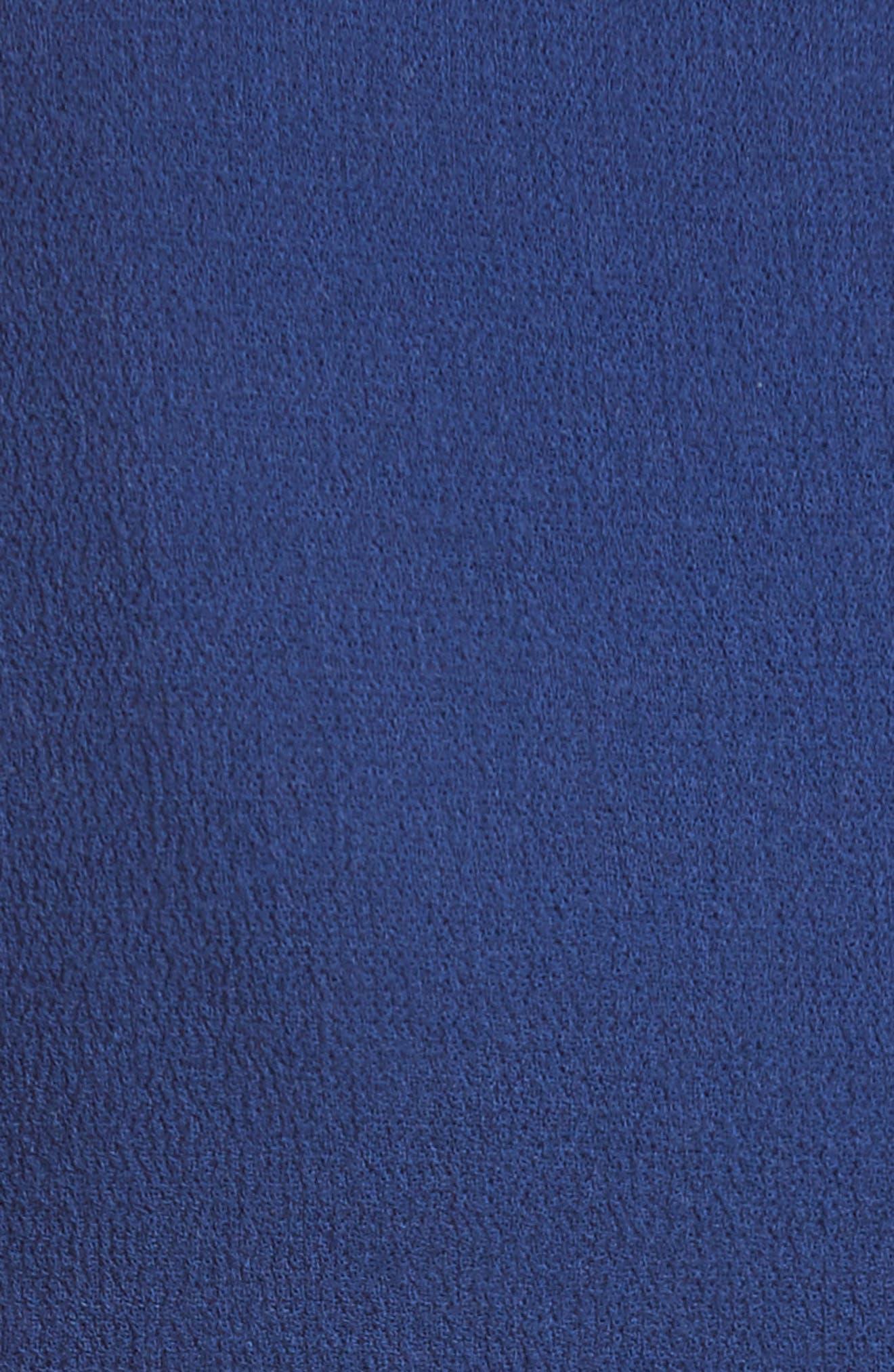 Double Crepe Peplum Jacket,                             Alternate thumbnail 6, color,