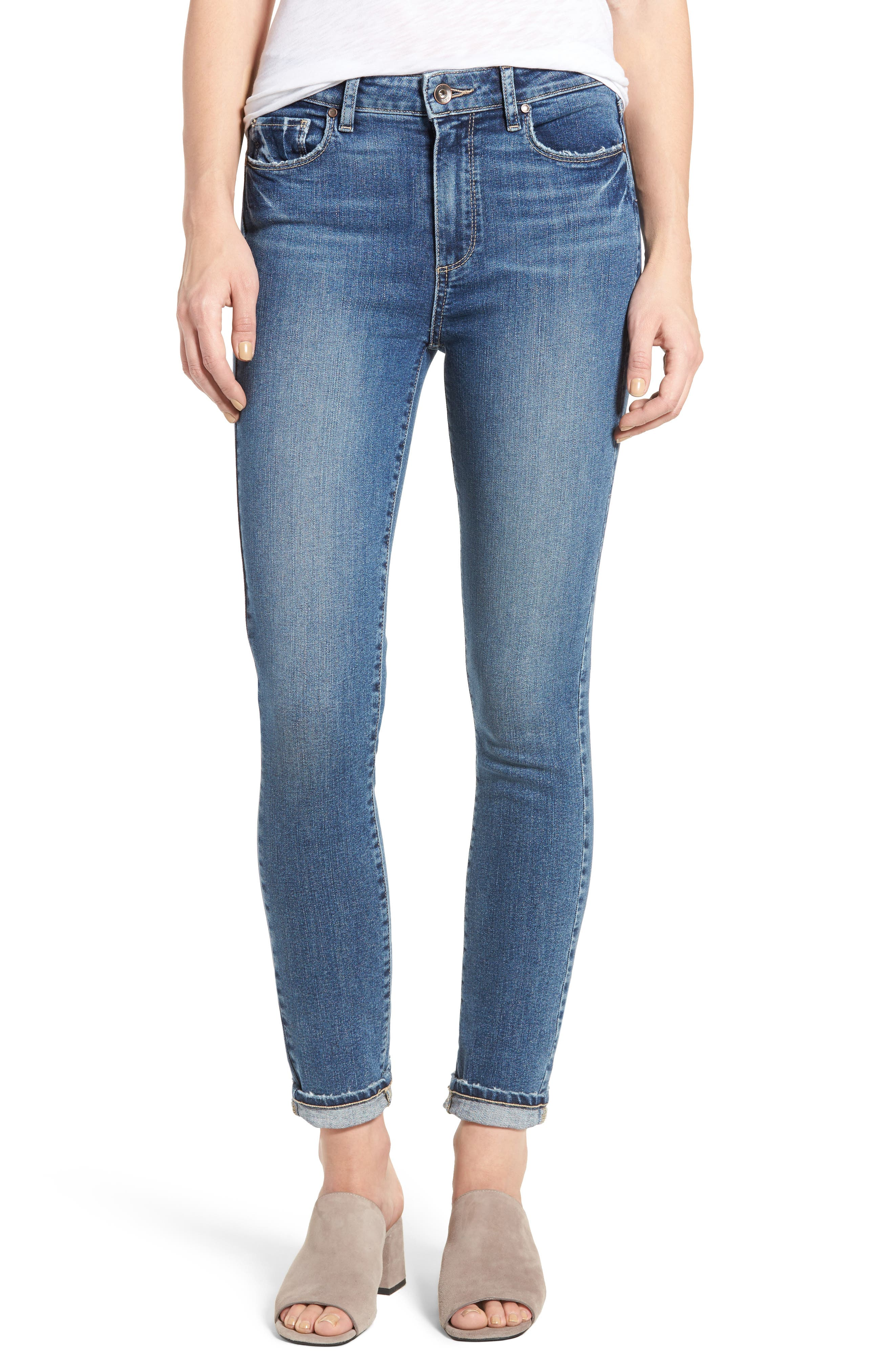 Hoxton High Waist Ultra Skinny Jeans,                         Main,                         color, 400