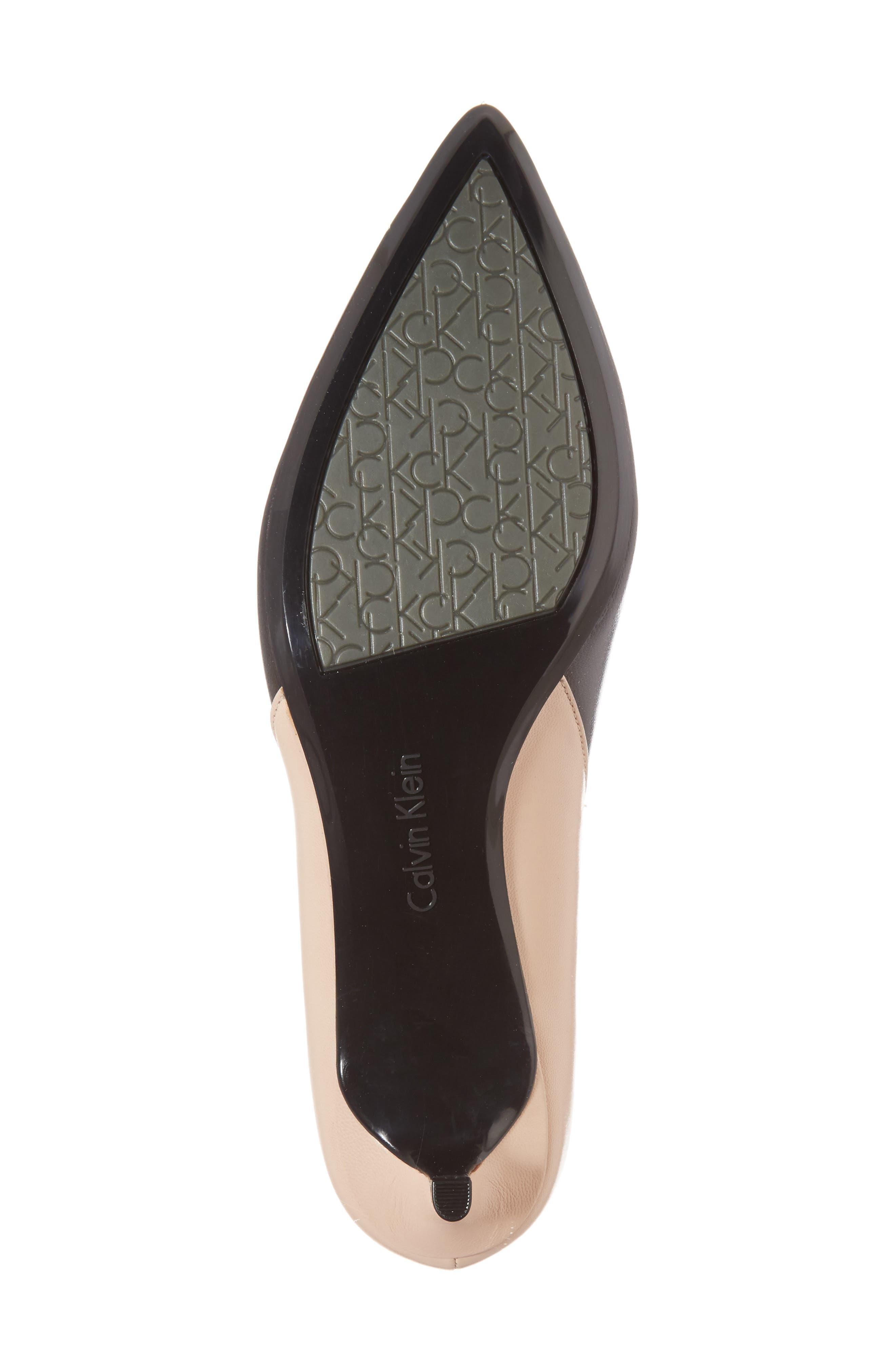 Grayce Pointy Toe Pump,                             Alternate thumbnail 6, color,                             002
