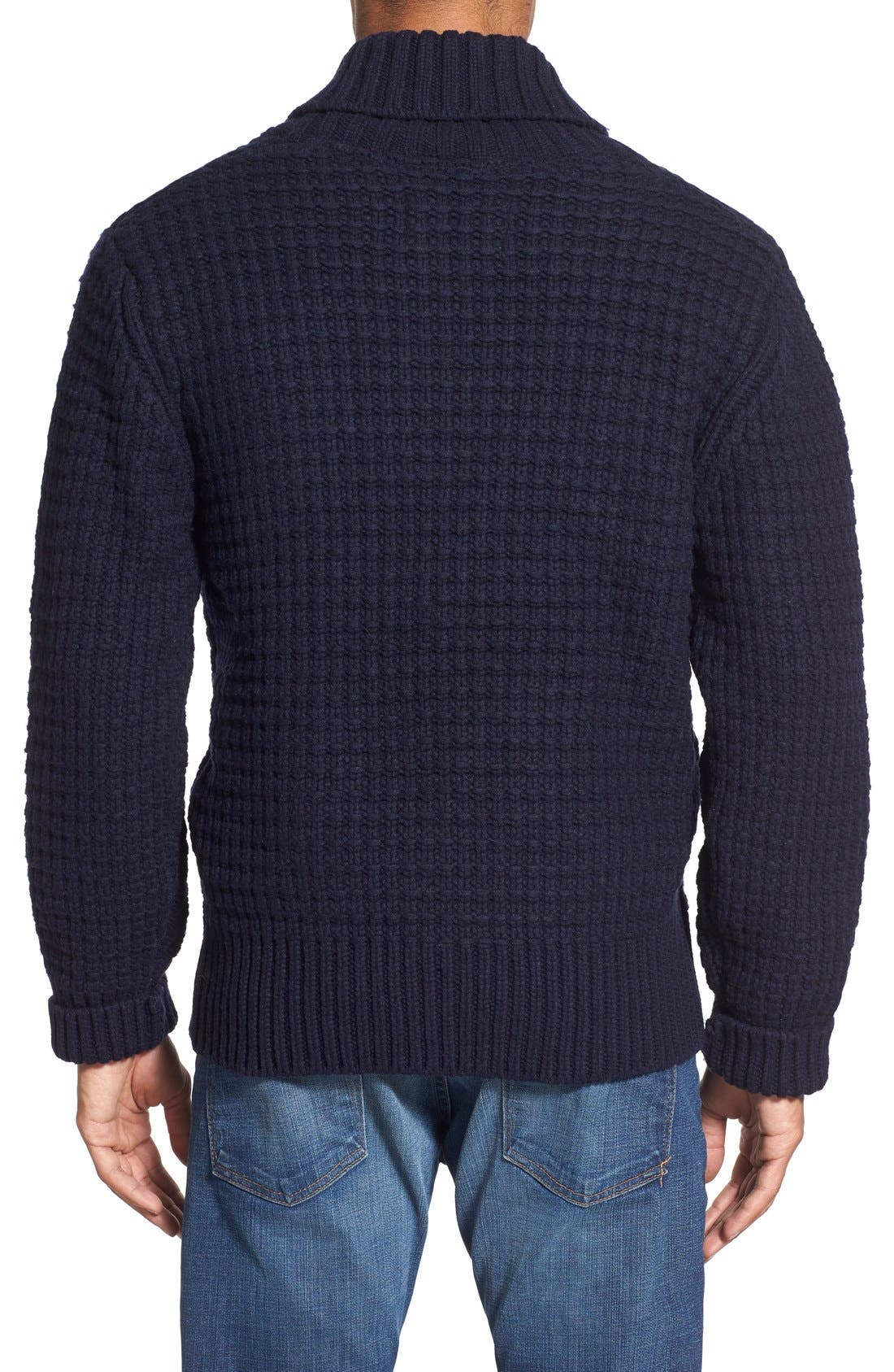 Shawl Collar Knit Pullover,                             Alternate thumbnail 9, color,