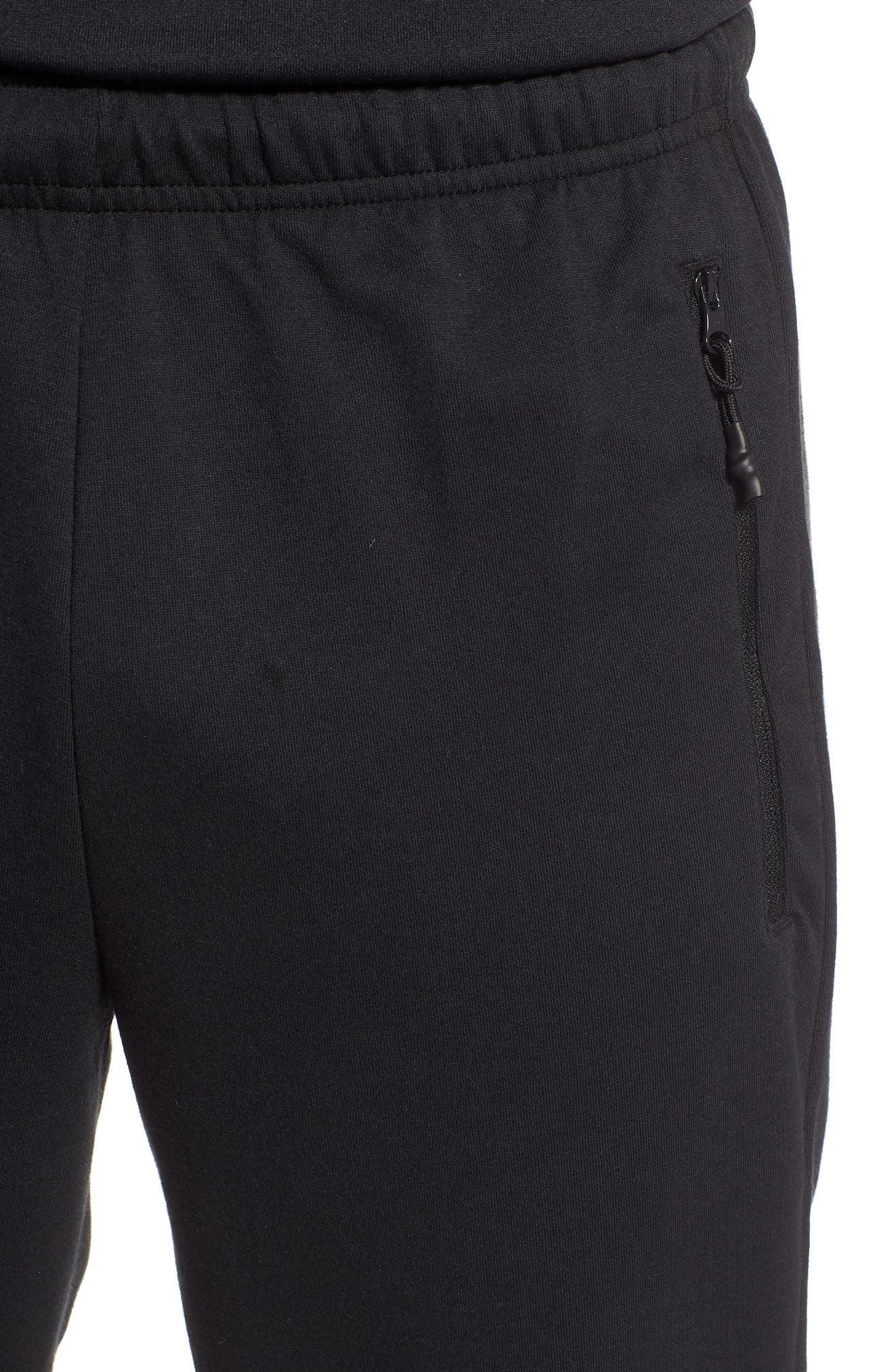 3-Stripes Track Pants,                             Alternate thumbnail 4, color,                             BLACK