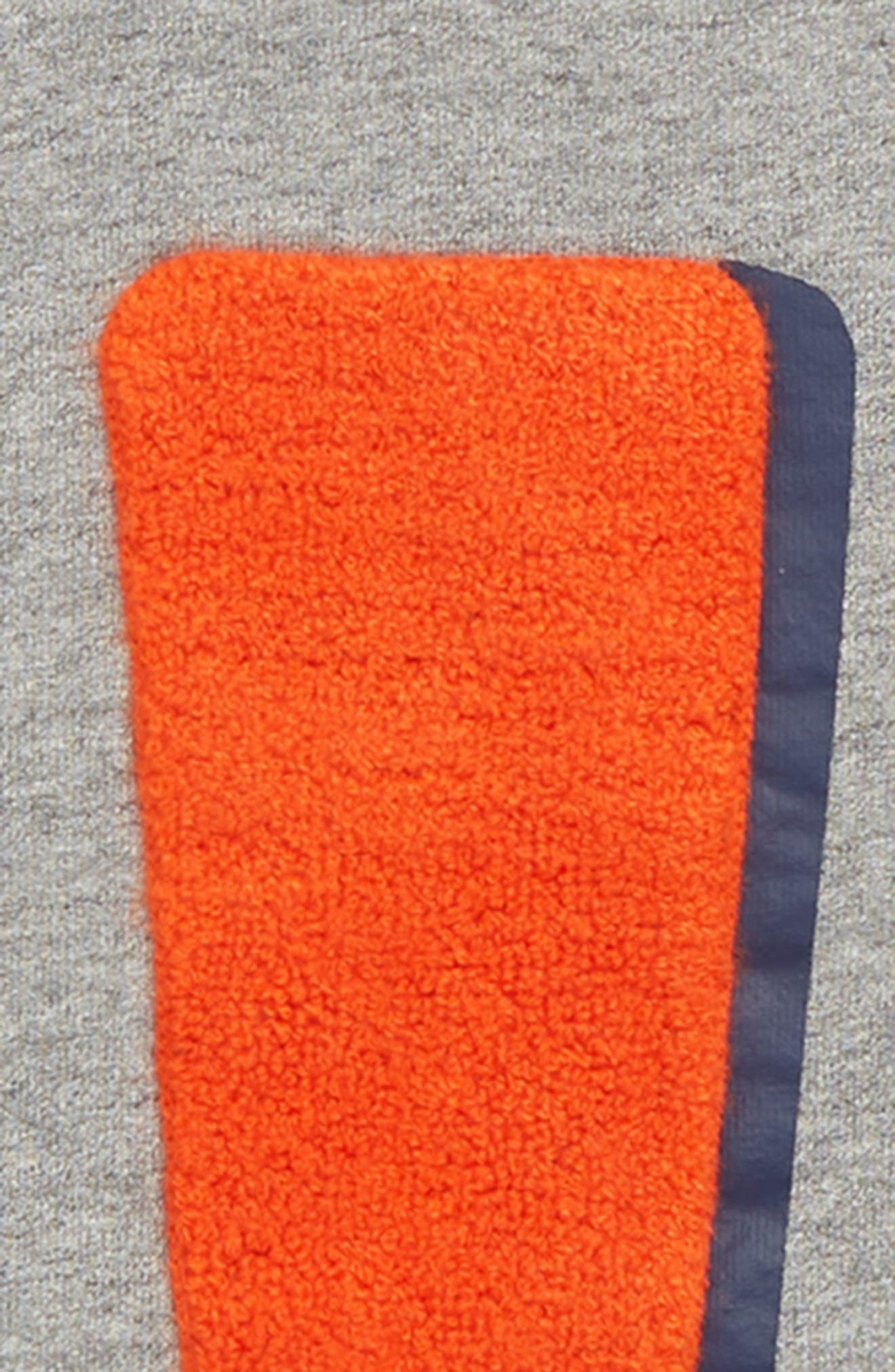 Exclamation Graphic Sweater,                             Alternate thumbnail 2, color,                             GREY MARL