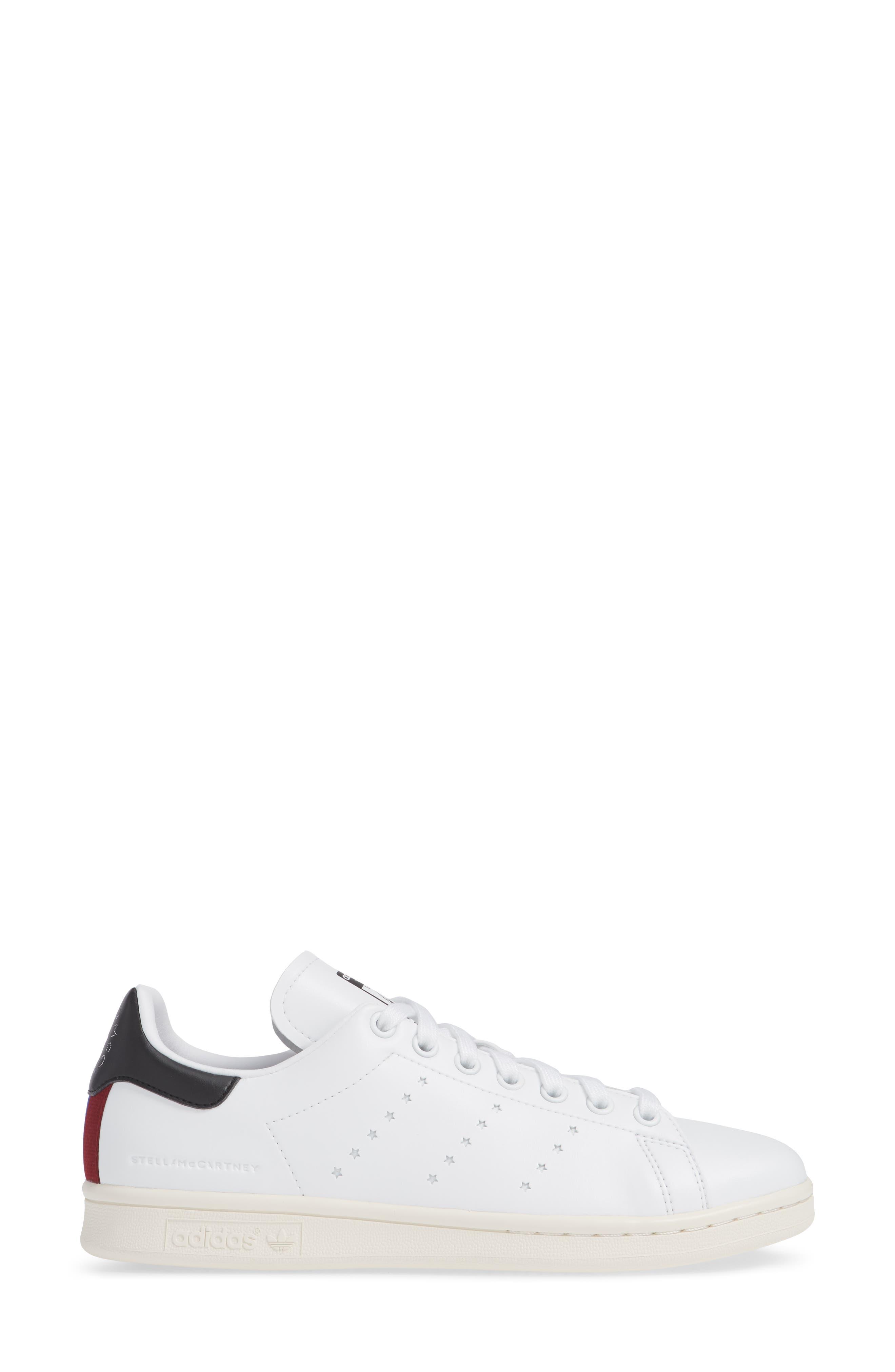 Stan Smith Sneaker,                             Alternate thumbnail 3, color,                             WHITE
