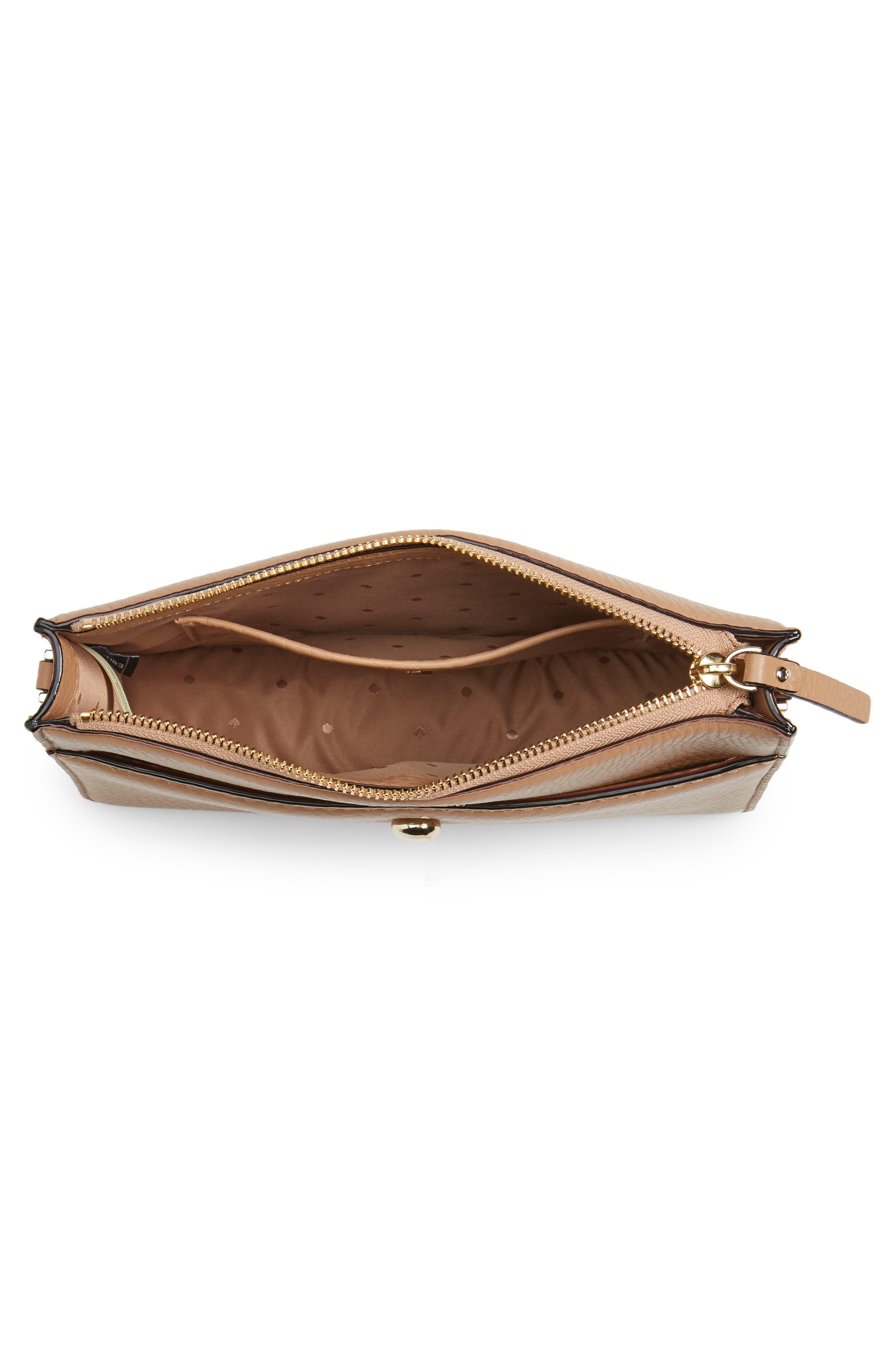 steward street clarise leather shoulder bag,                             Alternate thumbnail 11, color,