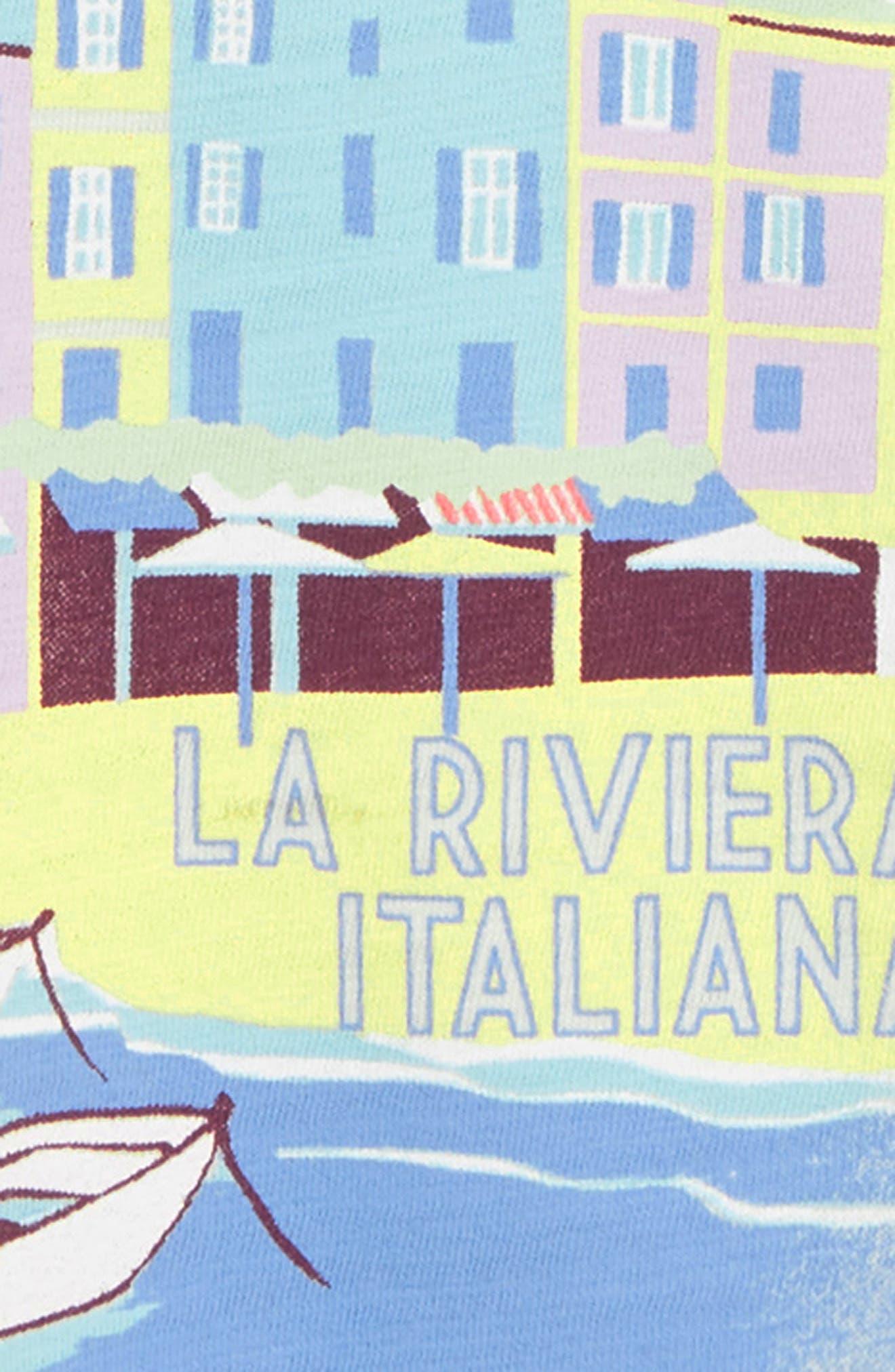 Portofino Graphic Tee,                             Alternate thumbnail 2, color,                             MINT