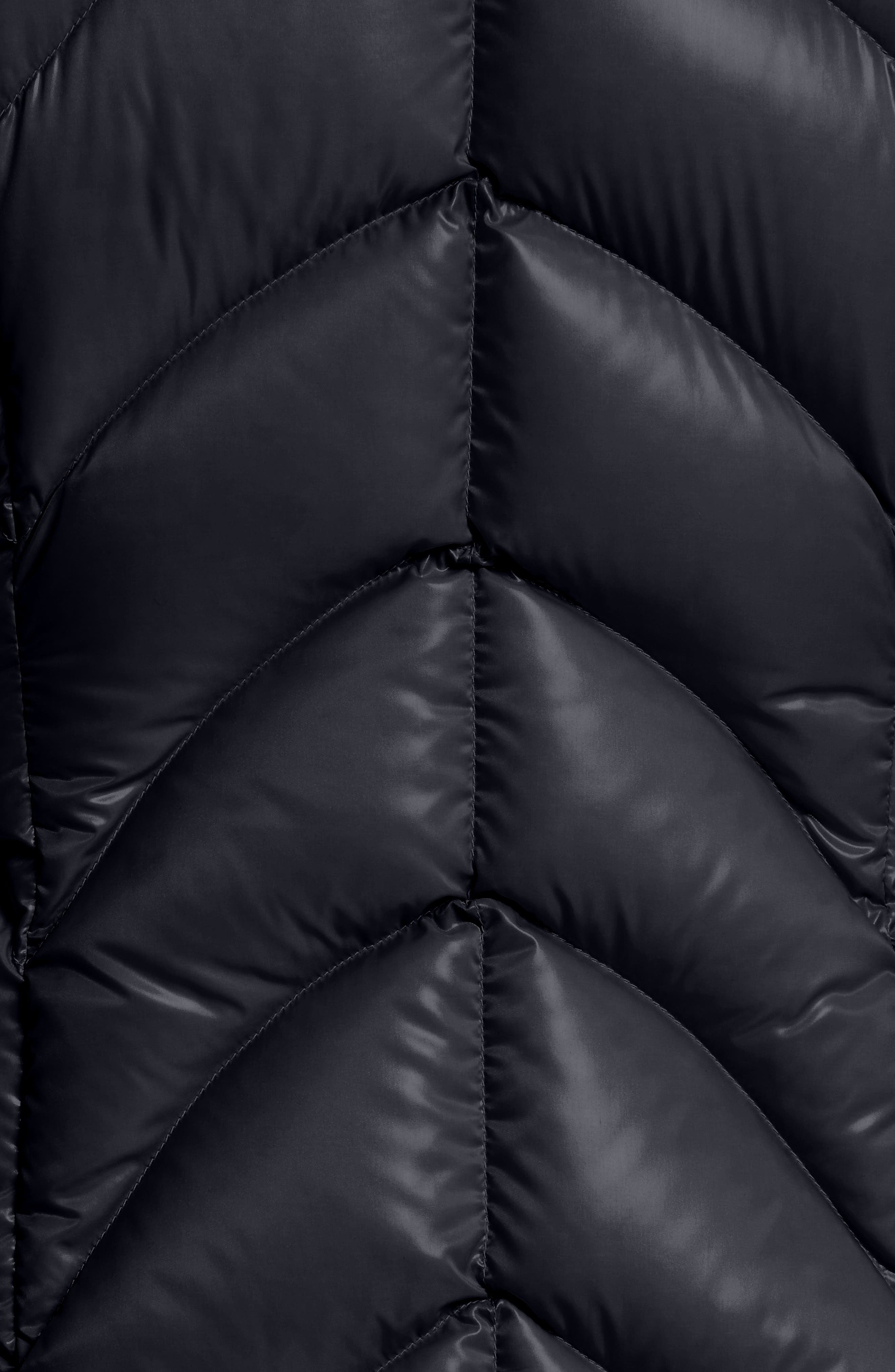 Akebia Quilted Down Jacket,                             Alternate thumbnail 6, color,                             NAVY