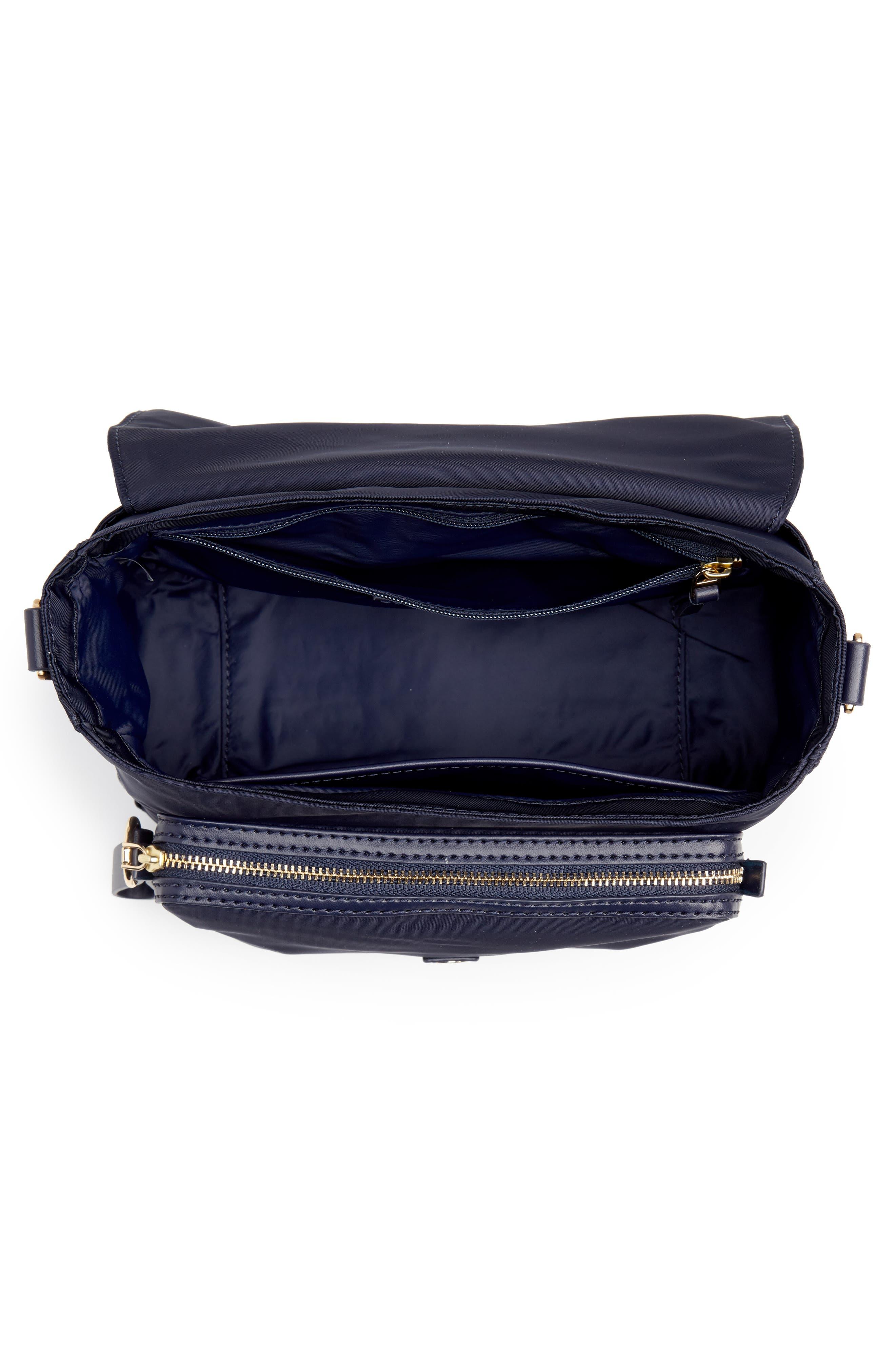 Tilda Nylon Crossbody Bag,                             Alternate thumbnail 5, color,                             400