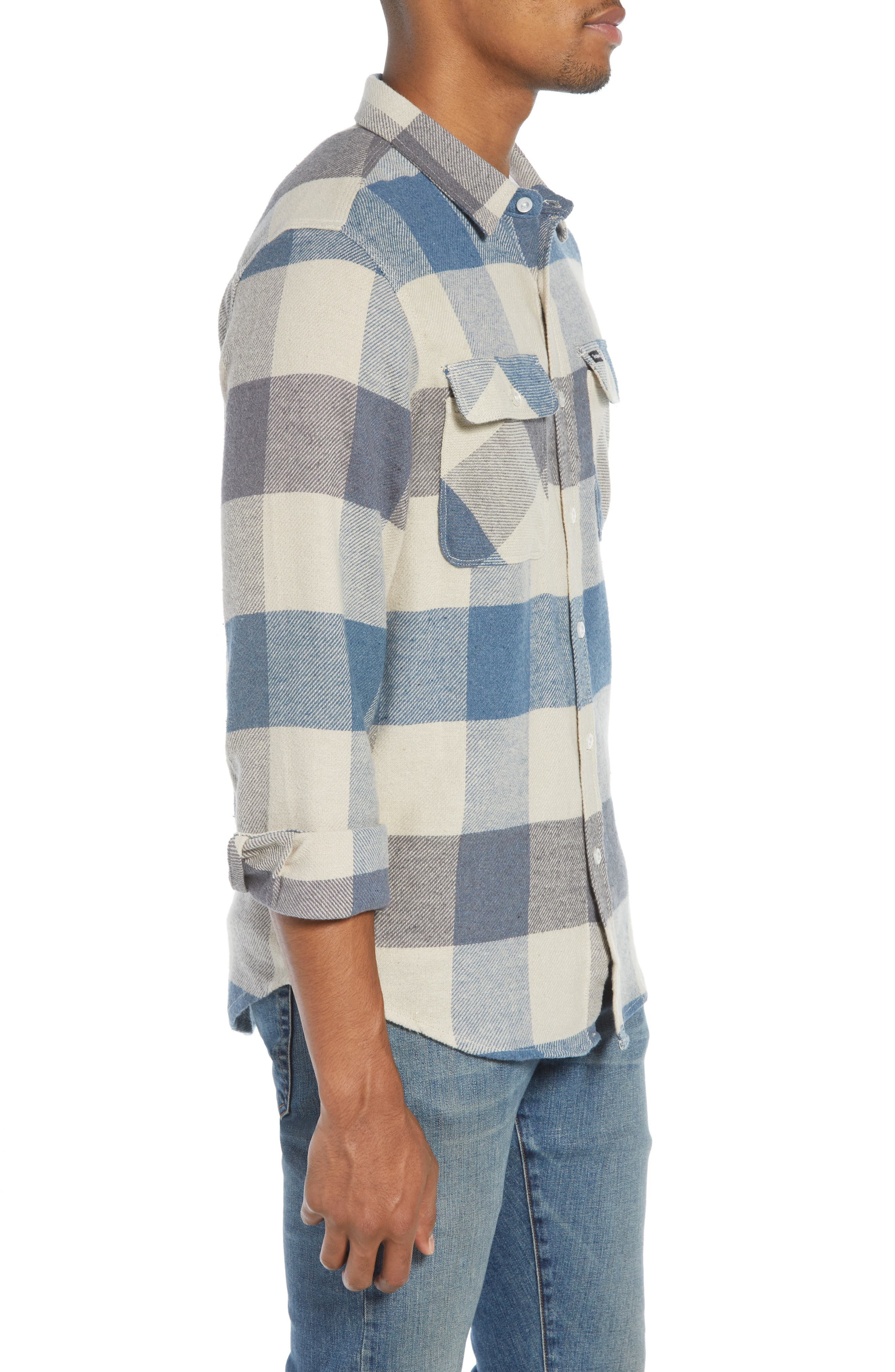 Bowery Flannel Shirt,                             Alternate thumbnail 37, color,