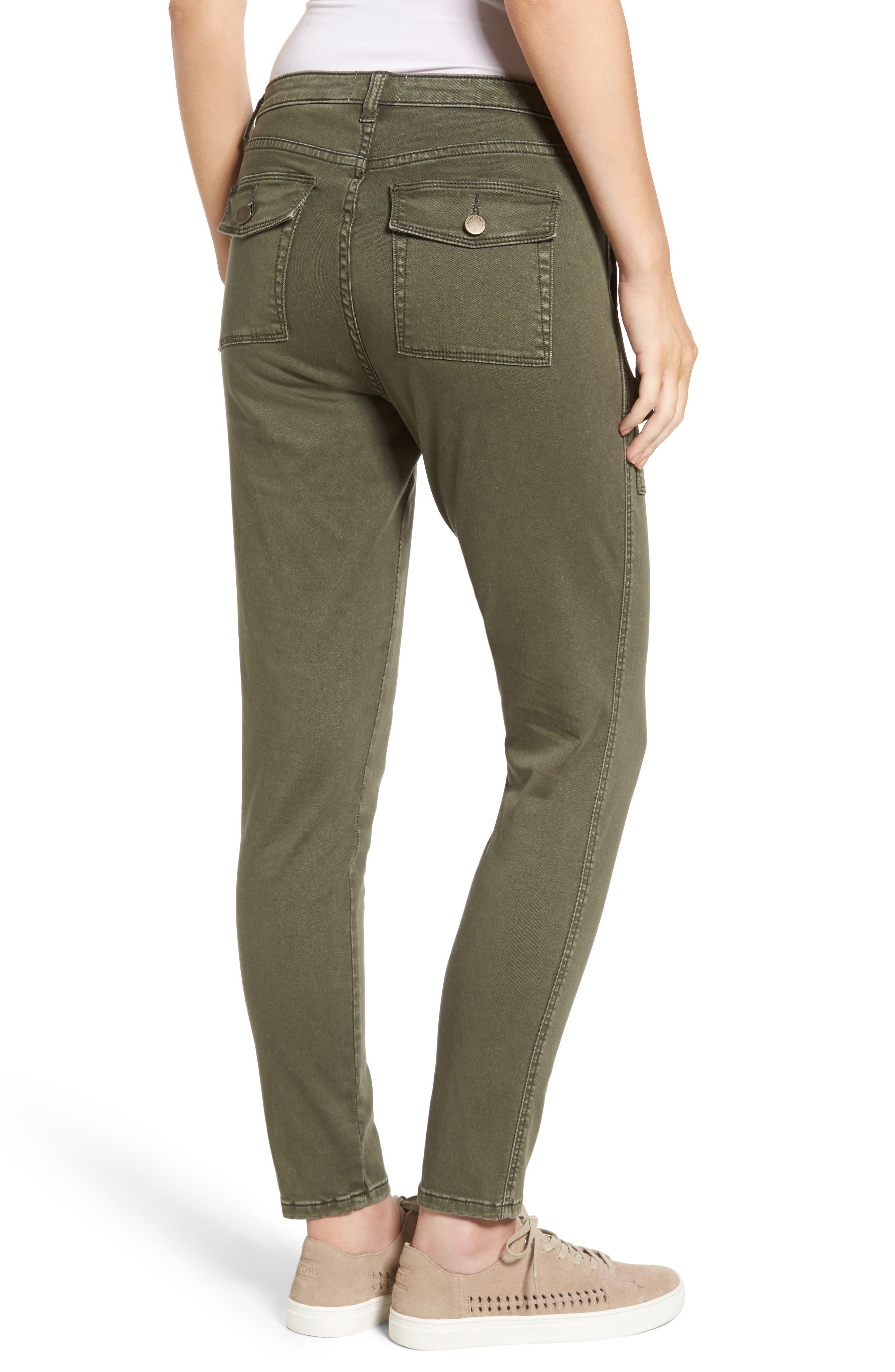 Slim Utility Pants,                             Alternate thumbnail 4, color,