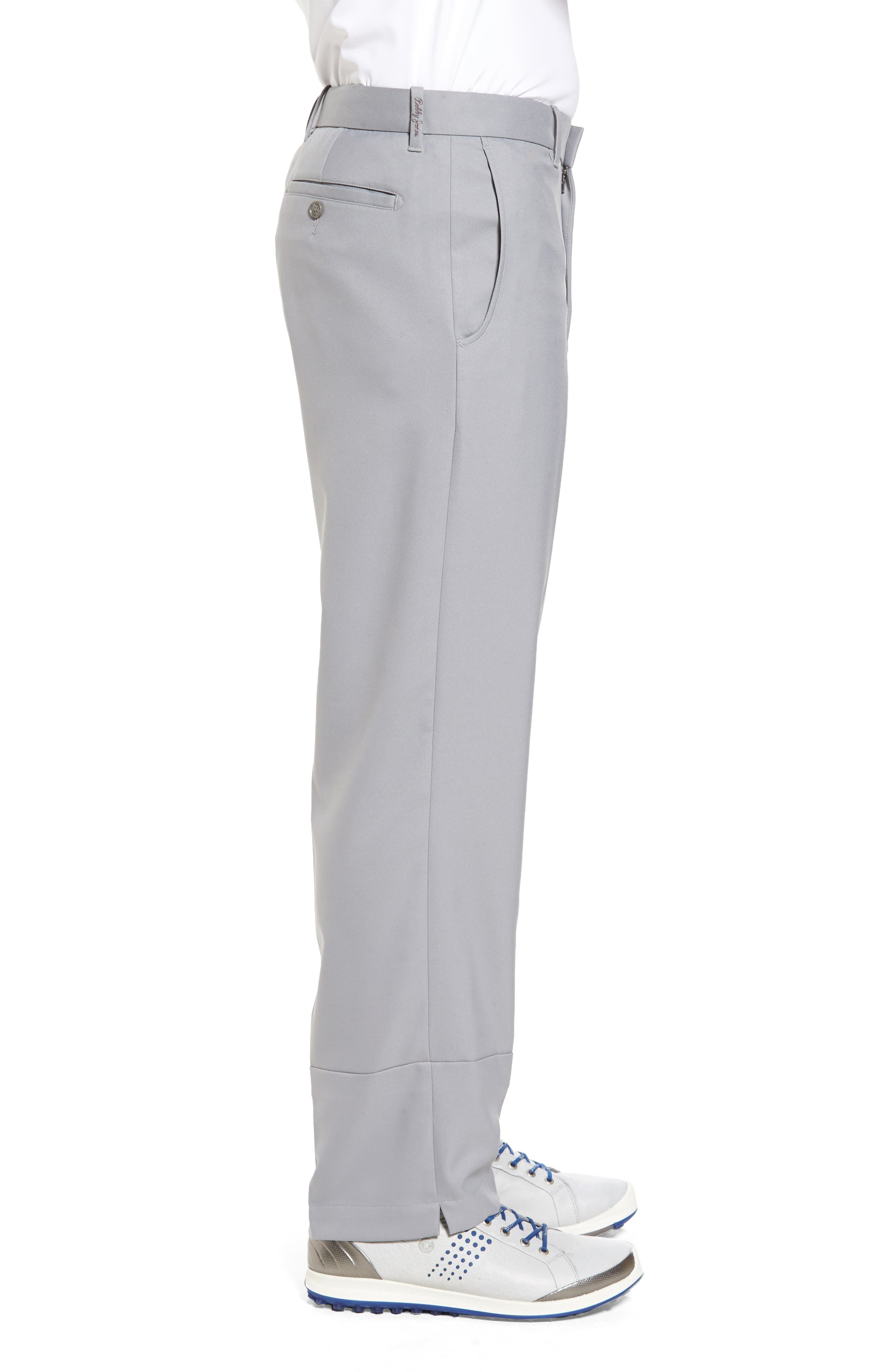'Tech' Flat Front Wrinkle Free Golf Pants,                             Alternate thumbnail 3, color,                             052