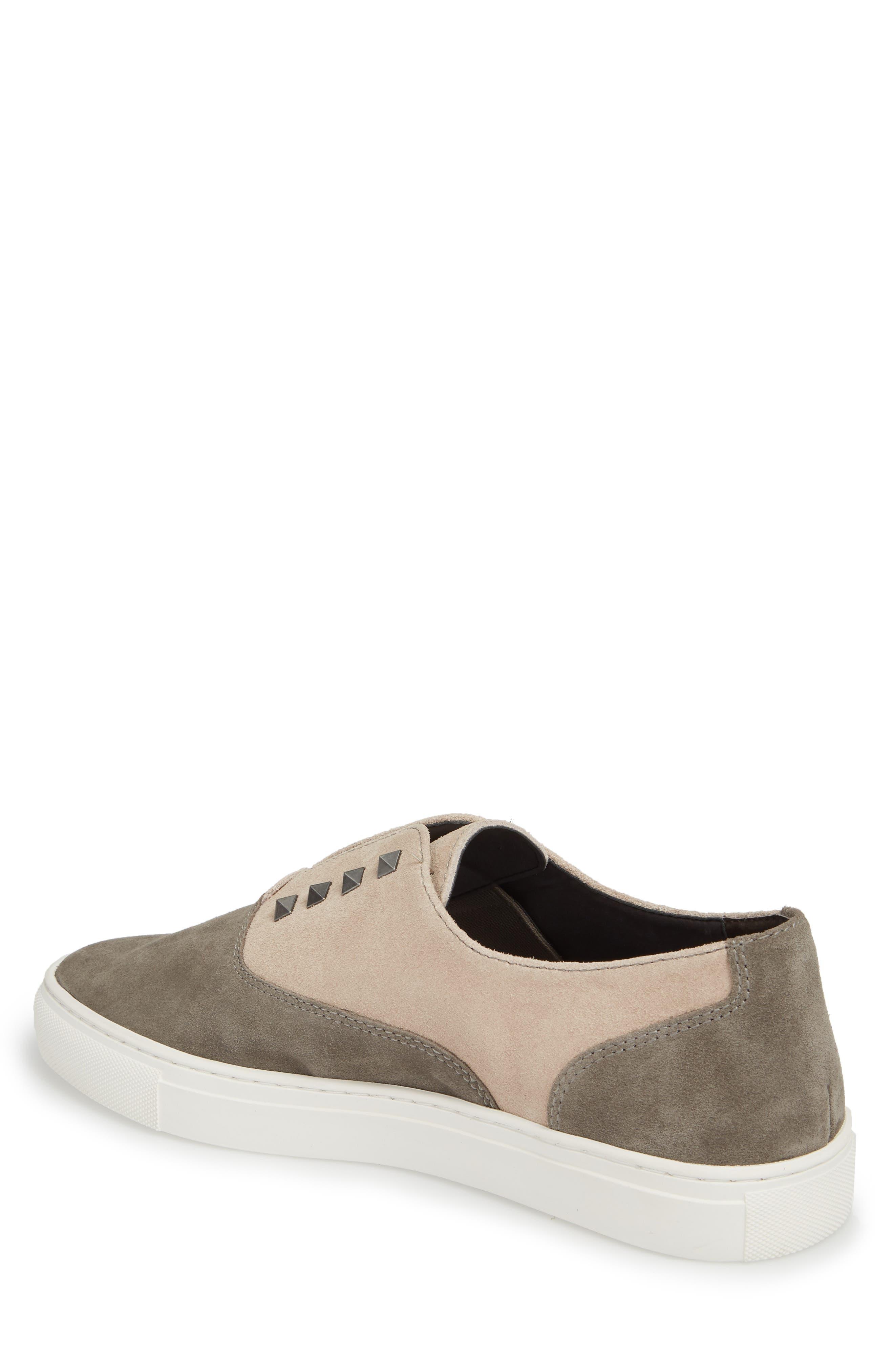 Aryo Studded Laceless Sneaker,                             Alternate thumbnail 4, color,