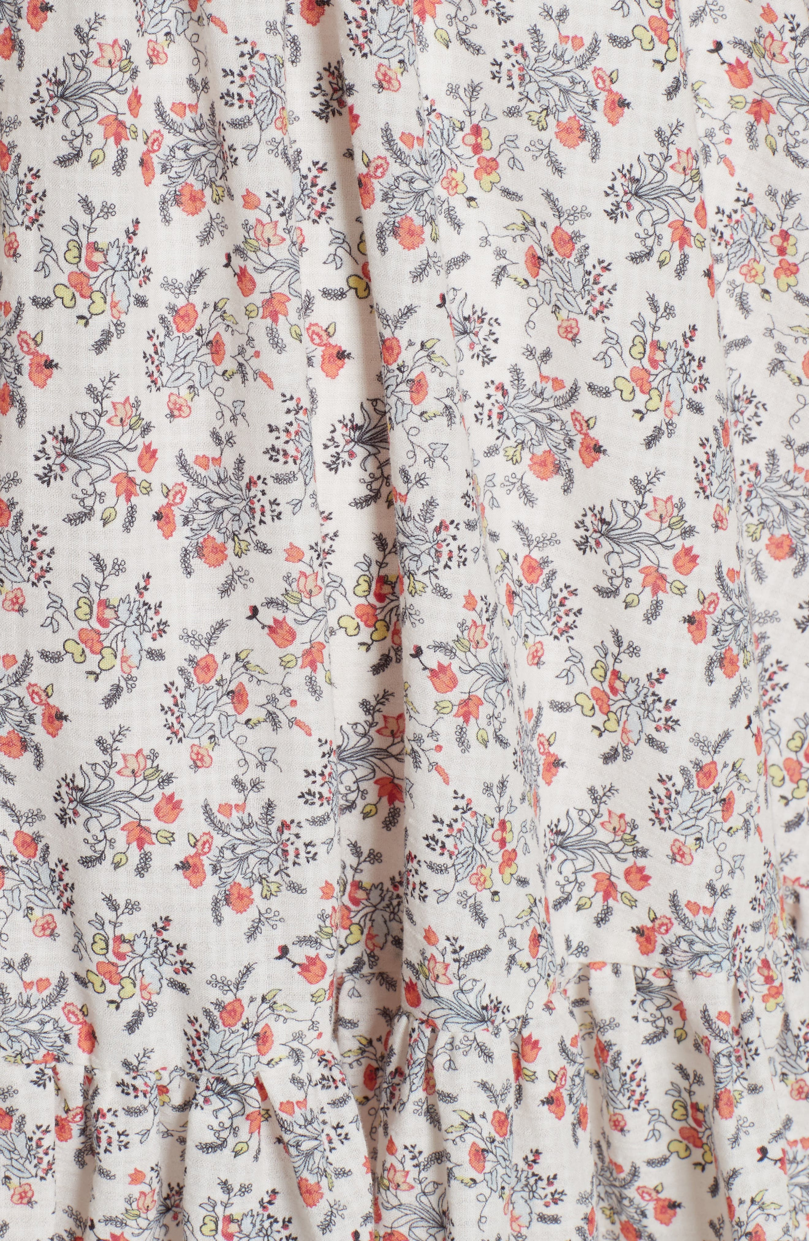 Provençal Strapless Dress,                             Alternate thumbnail 5, color,                             900