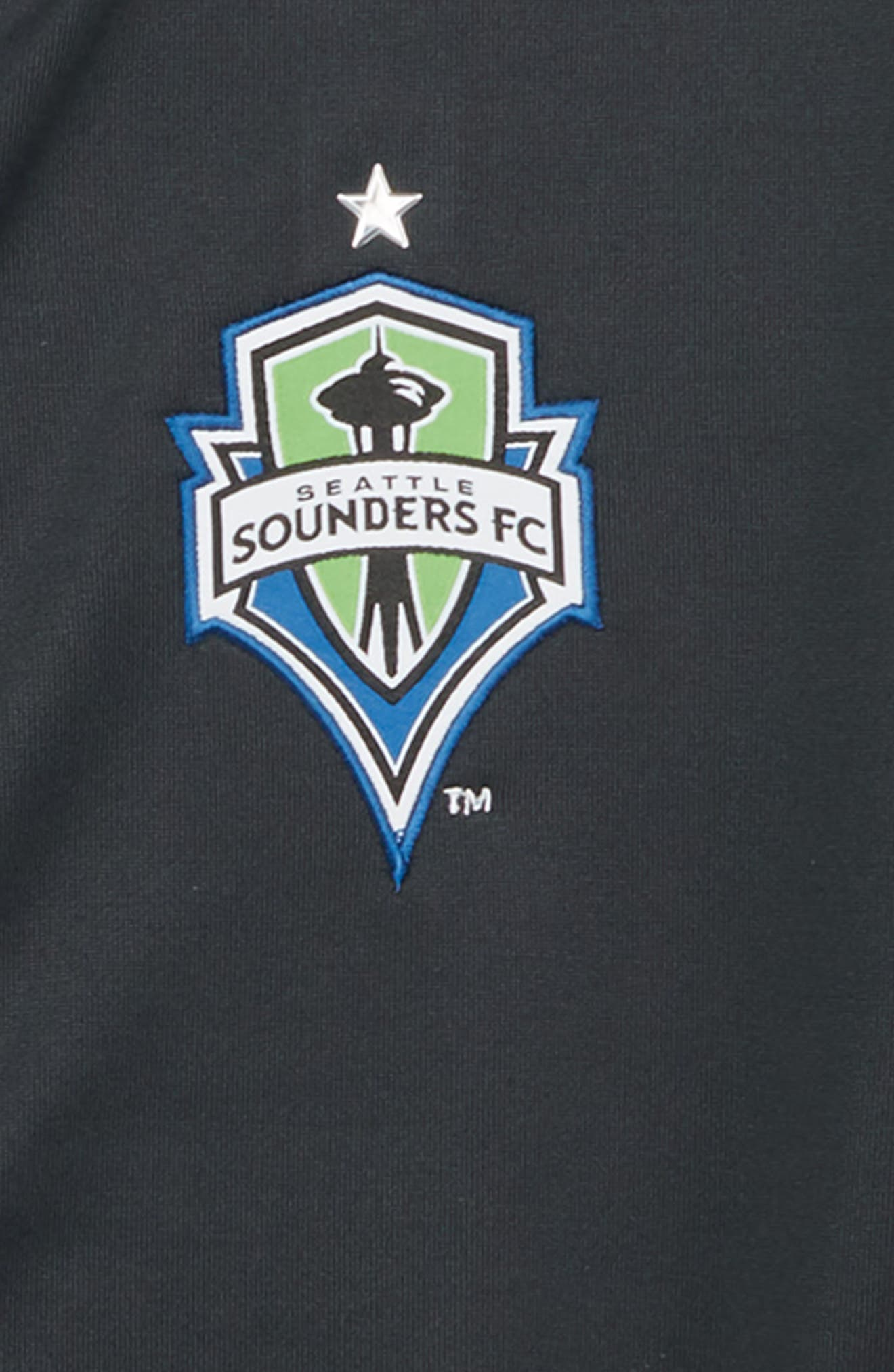 MLS Seattle Sounders FC Anthem Full Zip Jacket,                             Alternate thumbnail 2, color,                             020
