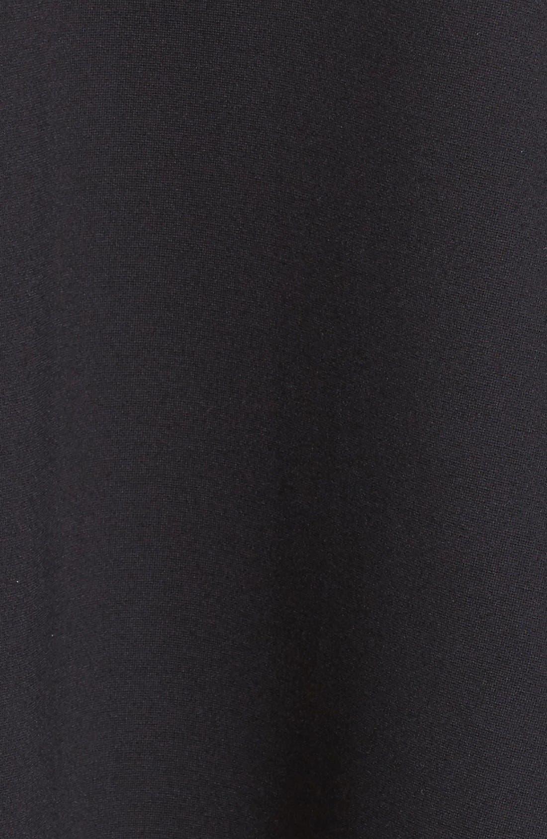 'Viola' Stretch Fit & Flare Dress,                             Alternate thumbnail 6, color,                             001