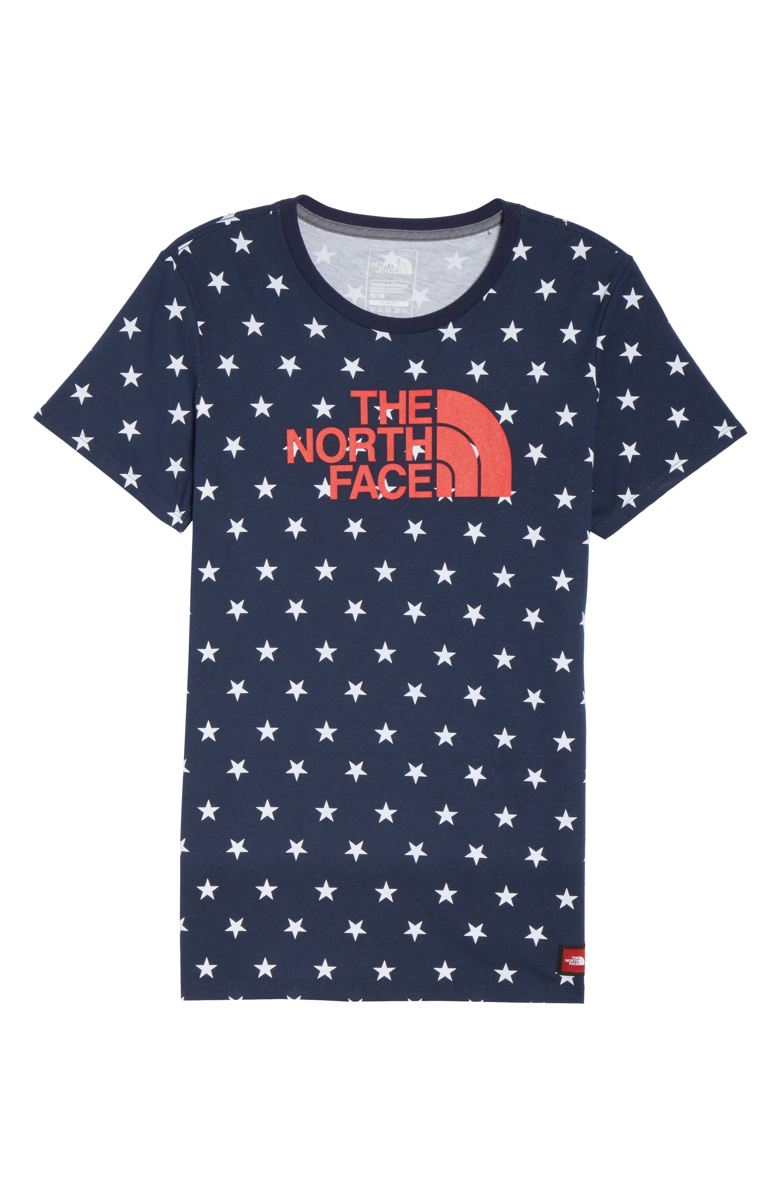 International Collection Tee,                             Alternate thumbnail 7, color,                             COSMIC BLUE STAR PRINT