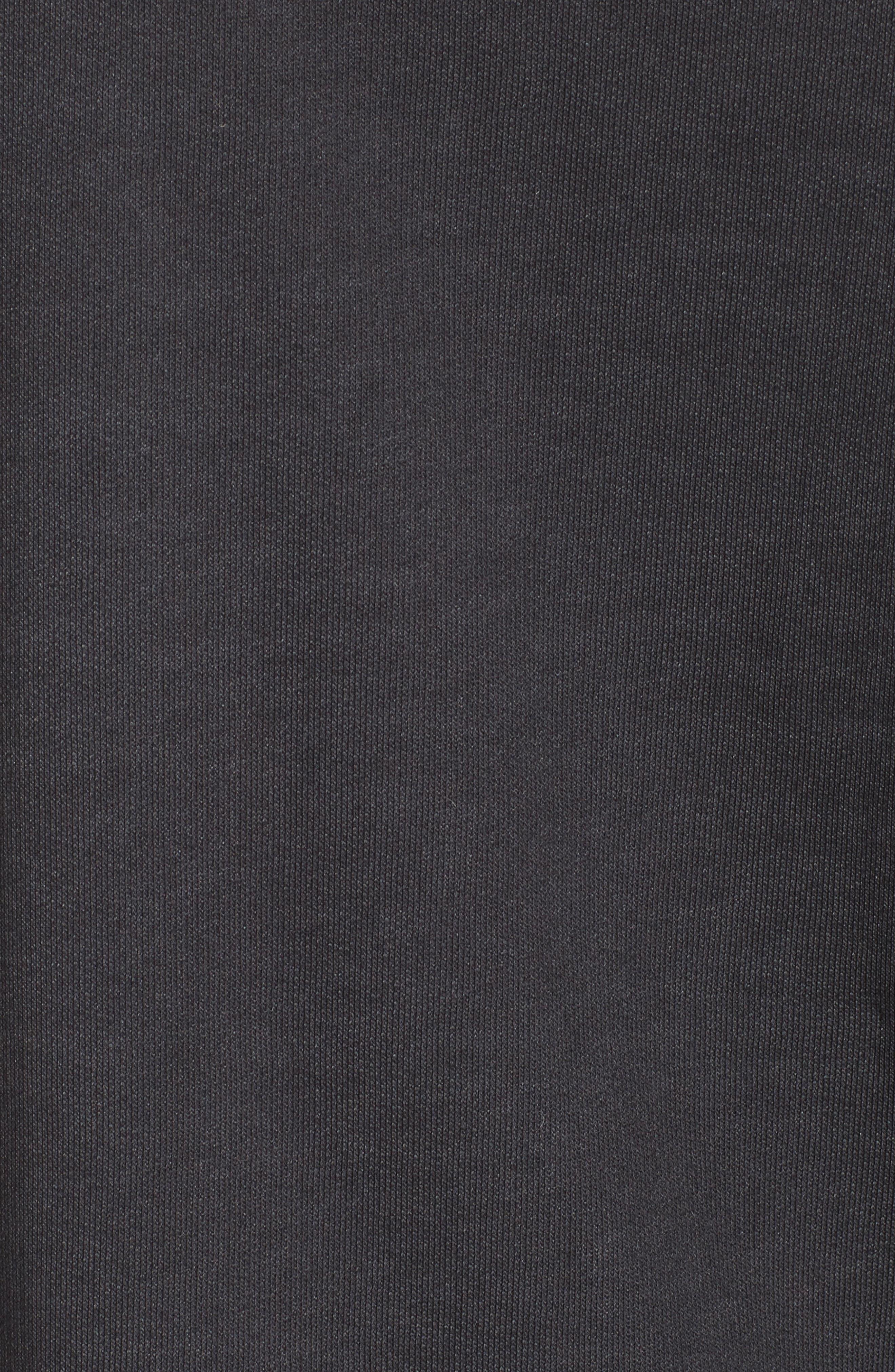 Cozy Stencil Sweatshirt,                             Alternate thumbnail 5, color,                             001