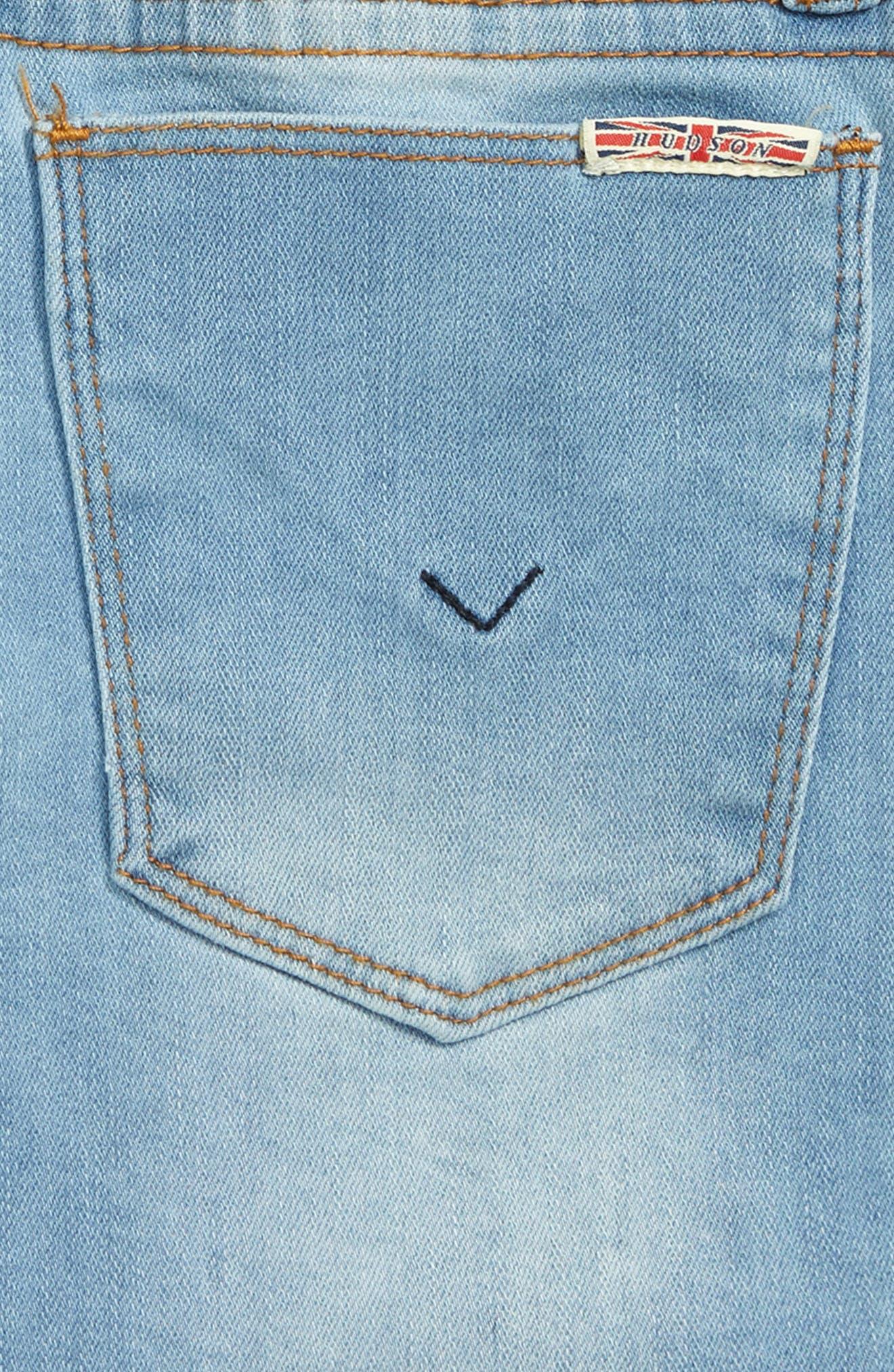 Frayed Shorts,                             Alternate thumbnail 3, color,                             SUNWASHED