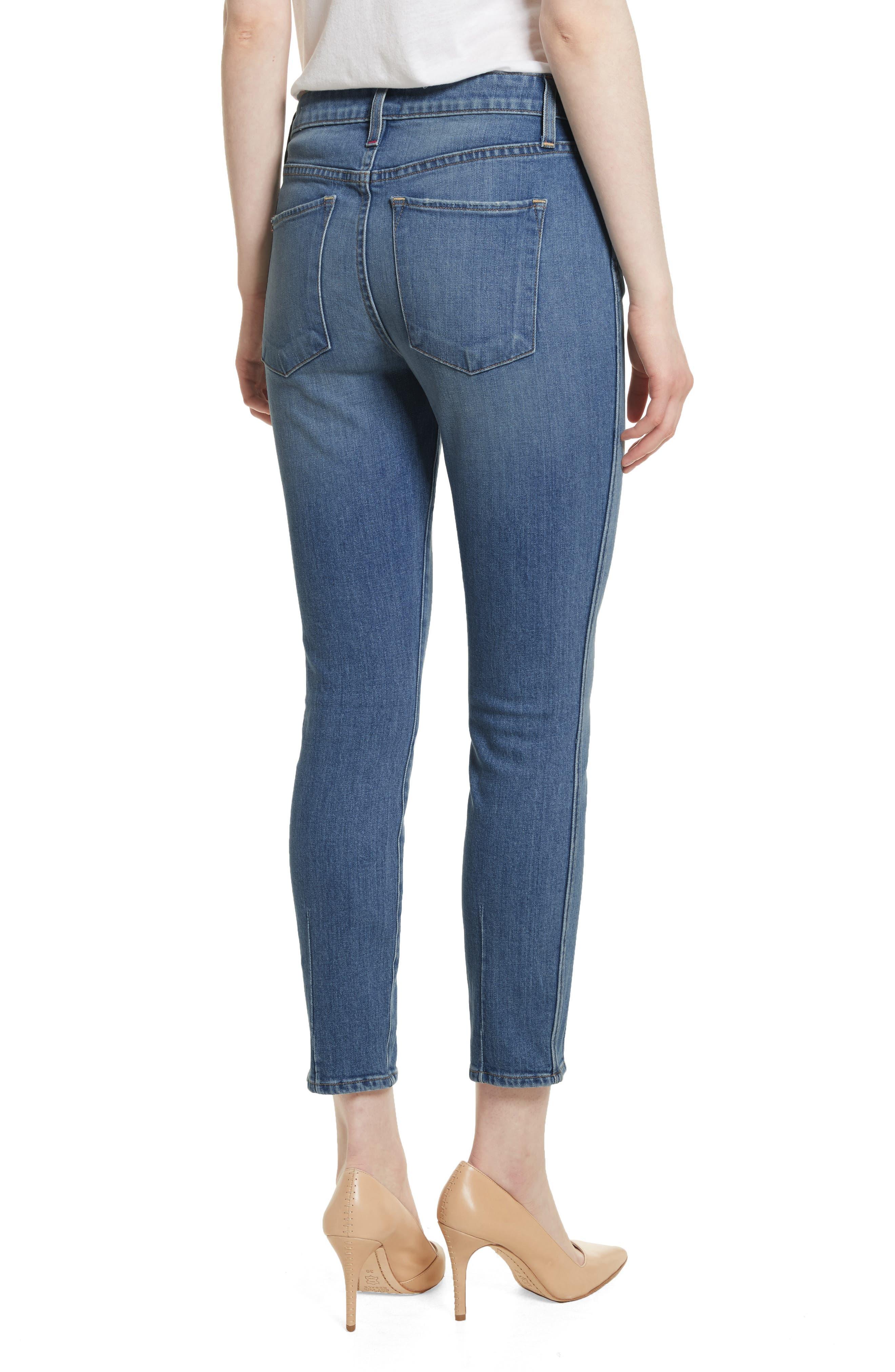 AO.LA Good Ankle Skinny Jeans,                             Alternate thumbnail 2, color,                             SWEET EMOTION