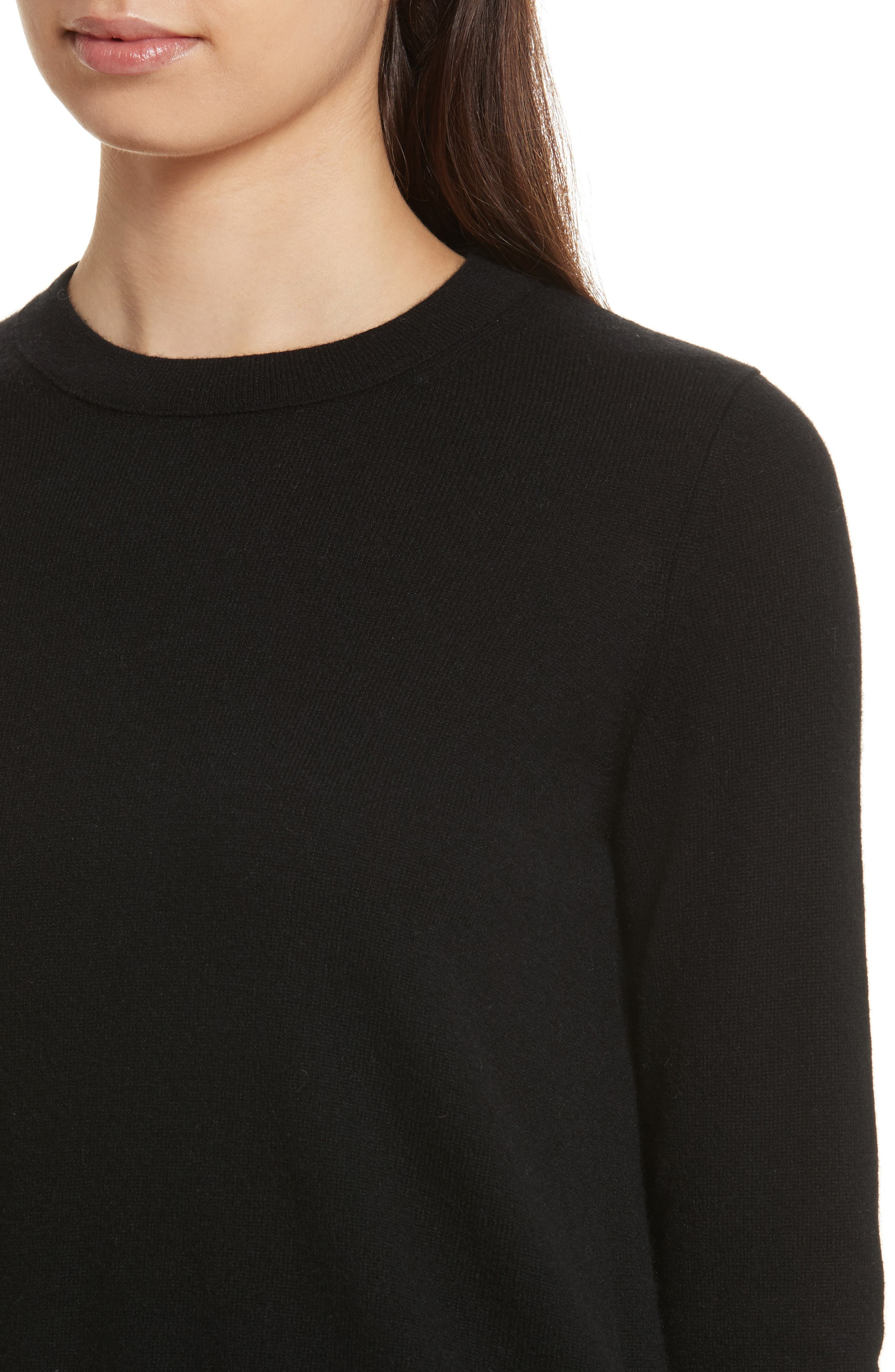 Cashmere Sweater,                             Alternate thumbnail 4, color,                             001
