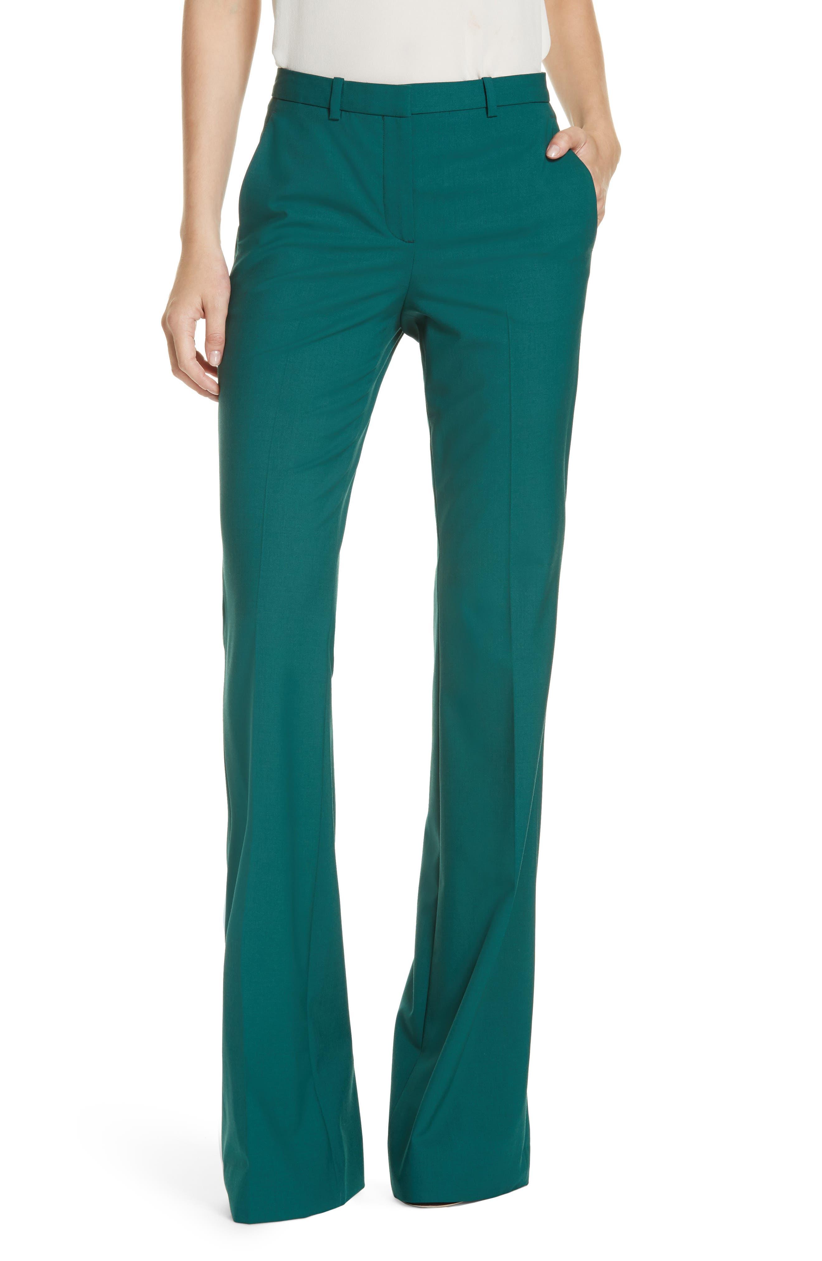Demitria 2 Stretch Wool Suit Pants,                             Main thumbnail 2, color,