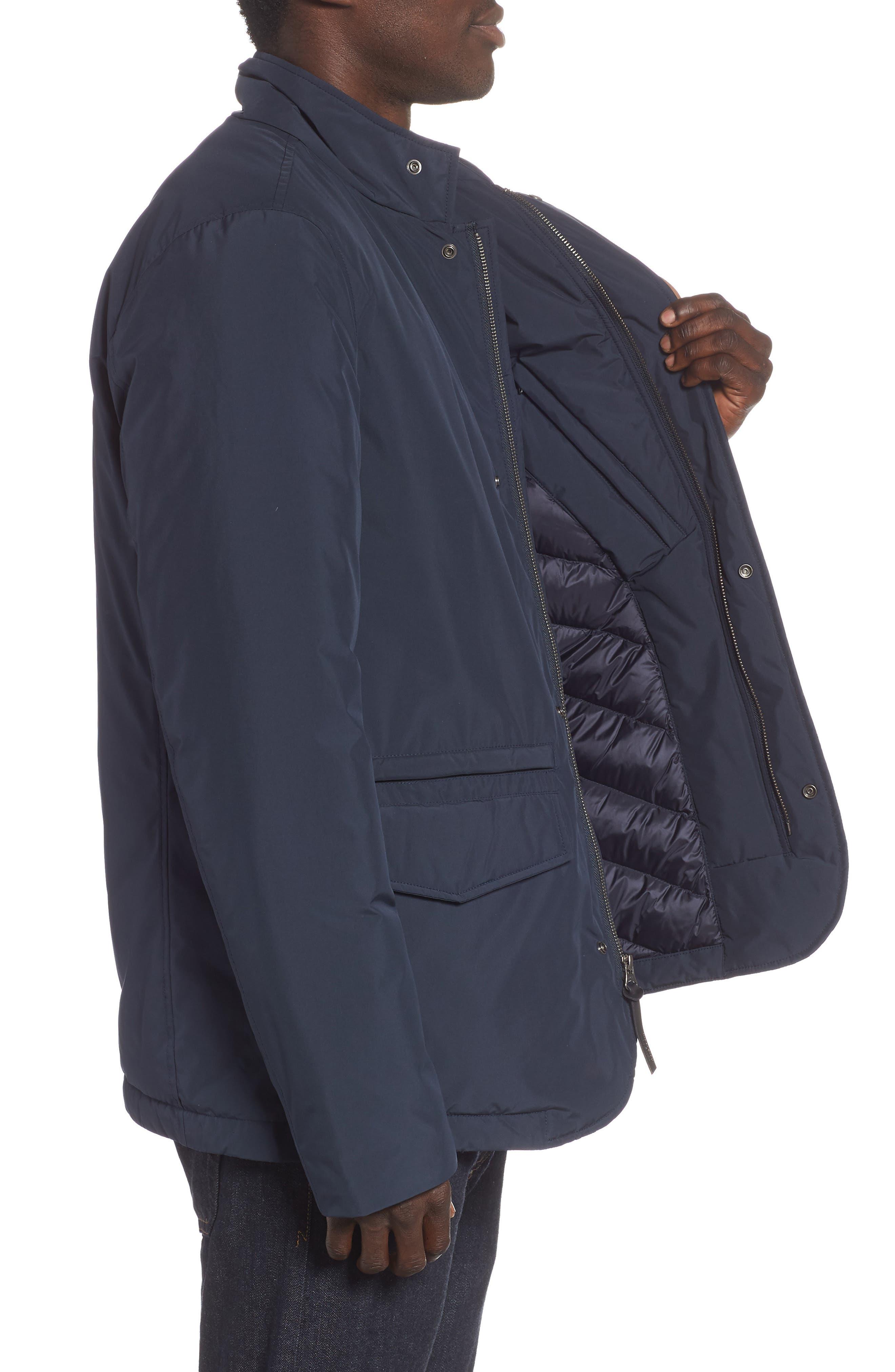 City Down Jacket,                             Alternate thumbnail 3, color,                             MELTON BLUE