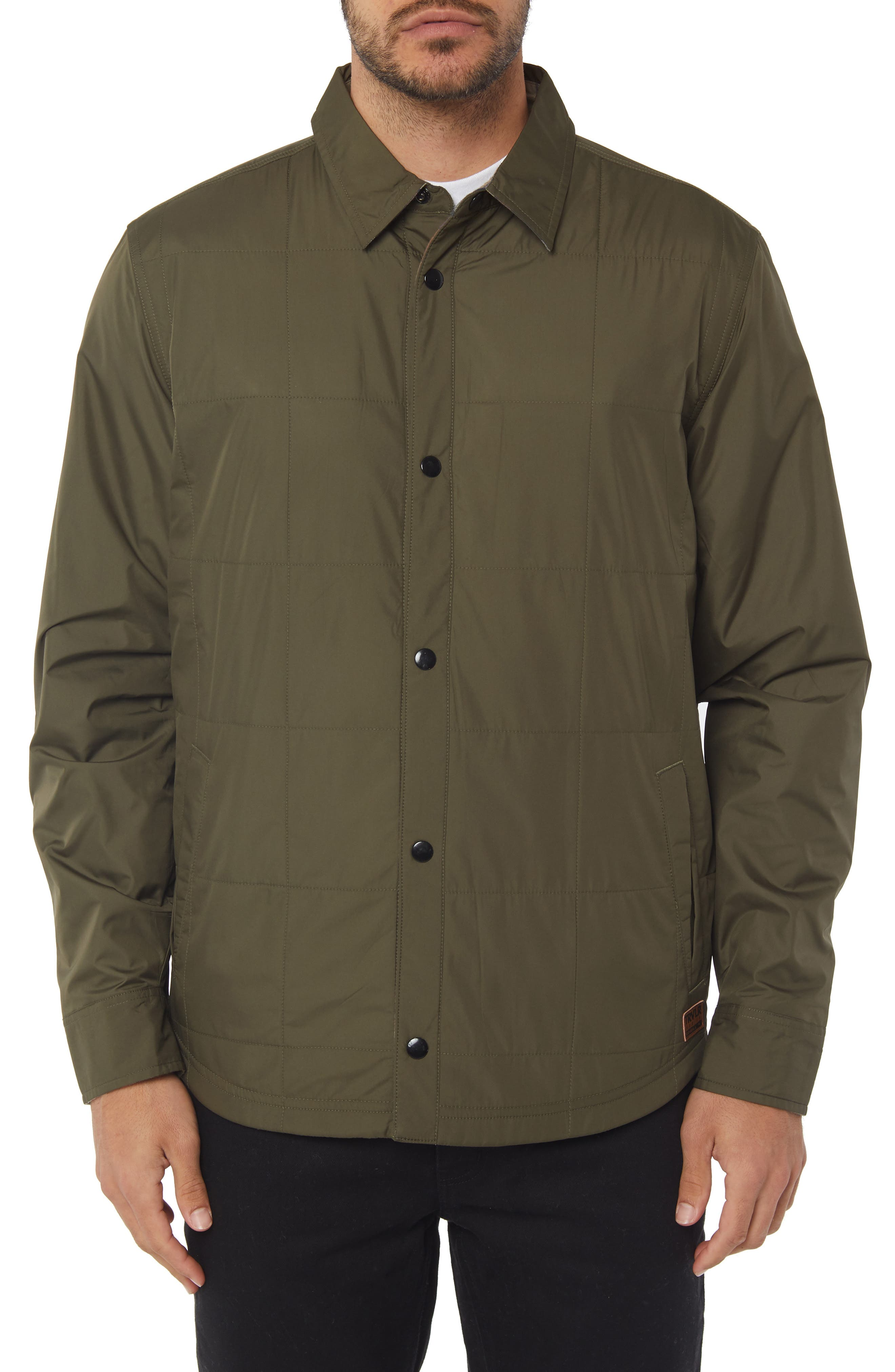 The Mick Jacket,                         Main,                         color, MILITARY GREEN